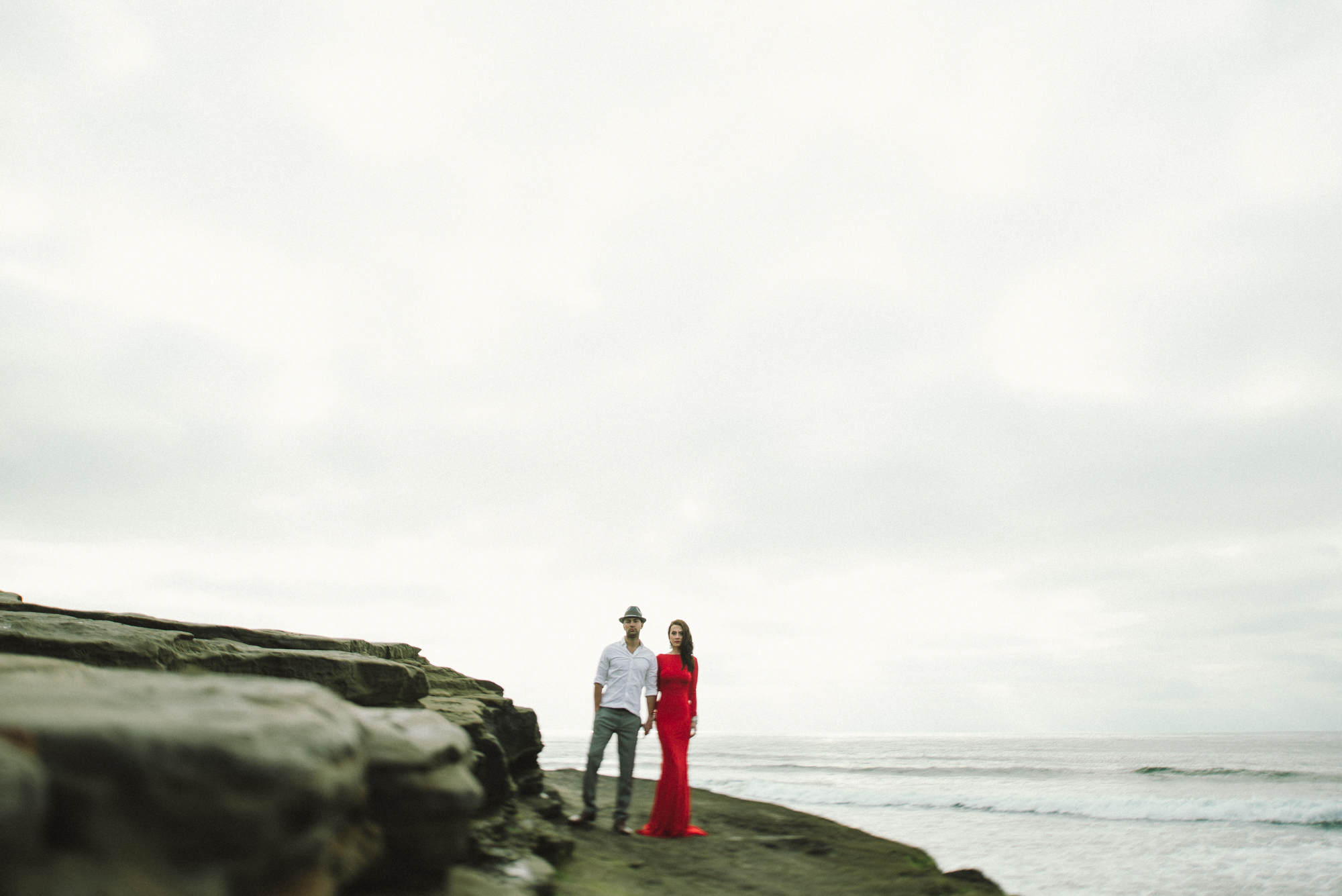 Isaiah & Taylor Photography - Los Angeles - Destination Wedding Photographers - San Diego Sunset Cliffs Beach Adventure Engagement-7.jpg