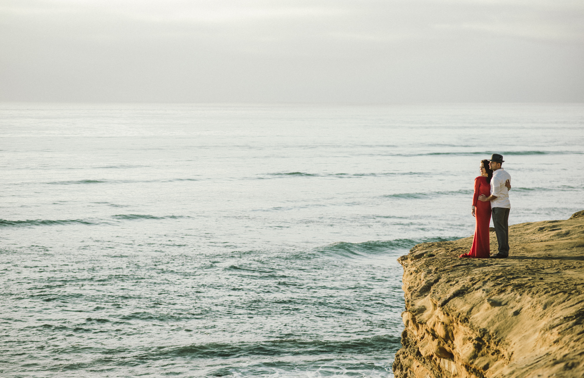 Isaiah & Taylor Photography - Los Angeles - Destination Wedding Photographers - San Diego Sunset Cliffs Beach Adventure Engagement-22.jpg