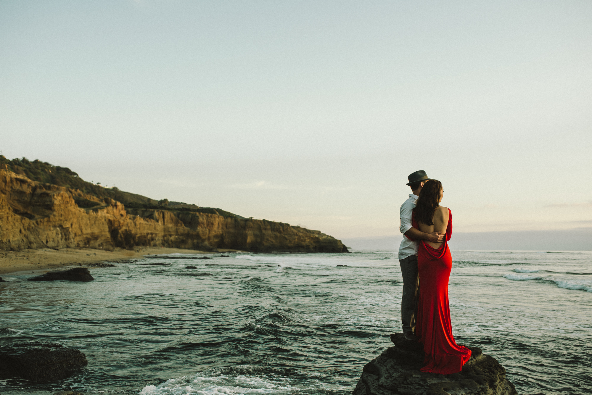 Isaiah & Taylor Photography - Los Angeles - Destination Wedding Photographers - San Diego Sunset Cliffs Beach Adventure Engagement-33.jpg