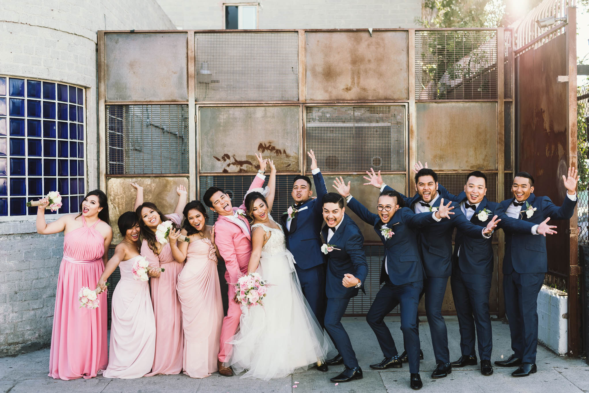 ©Isaiah & Taylor Photography - Los Angeles Wedding Photographer - Lot 613 Warehouse Space-35.jpg