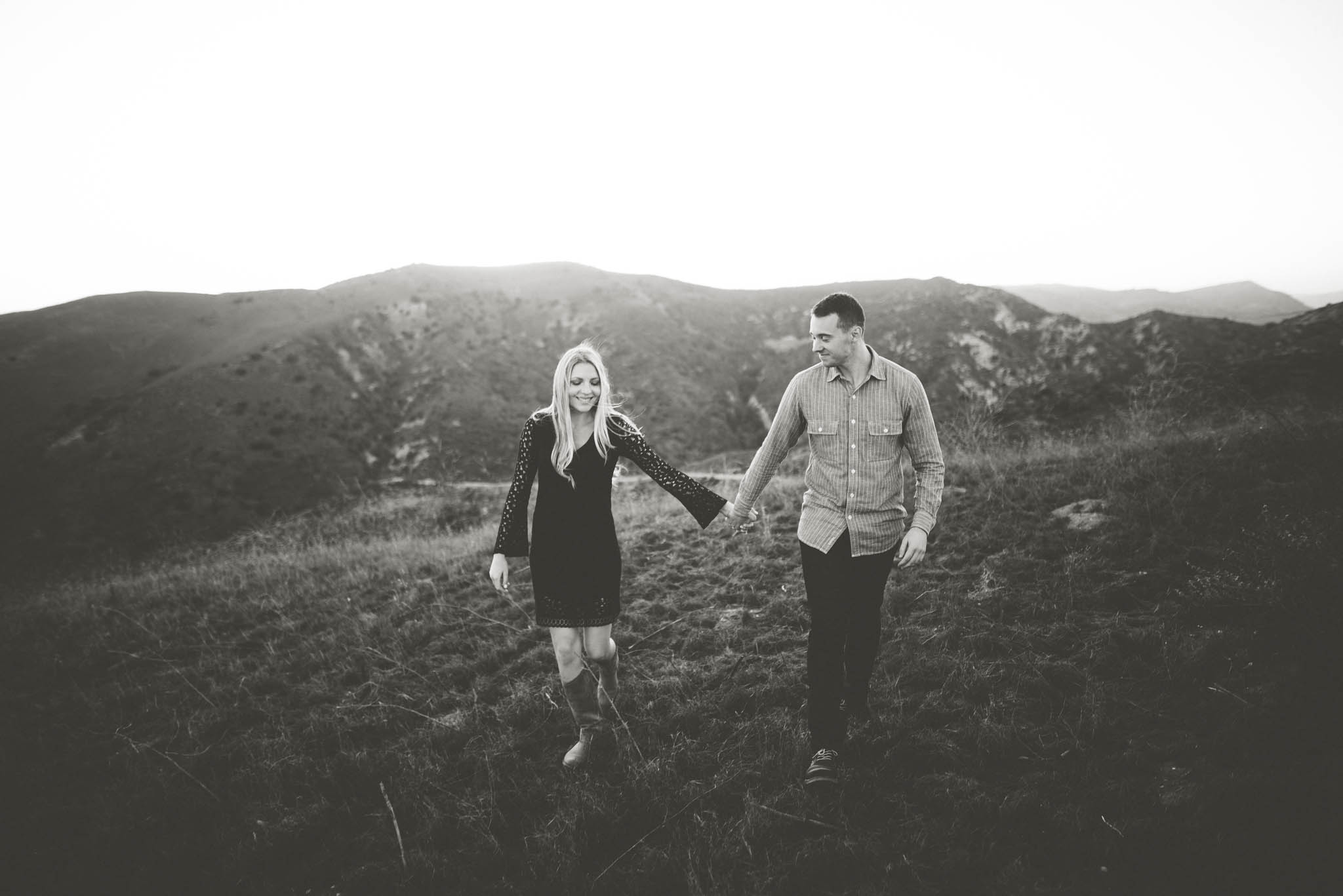 ©Isaiah & Taylor Photography - Los Angeles Wedding Photographer - Orange County Sunset Hillside Engagement - -16.jpg