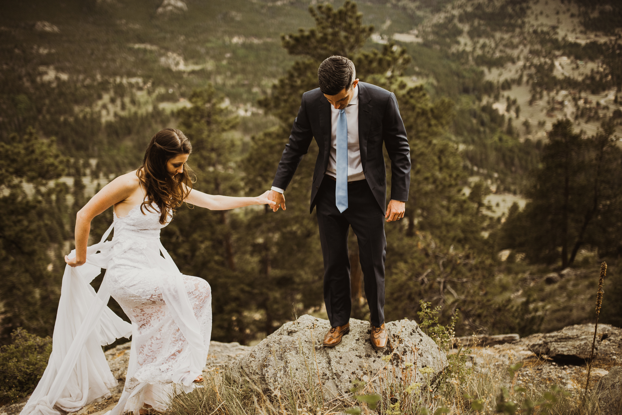 ©Isaiah + Taylor Photography - Estes National Park Adventure Elopement, Colorado Rockies-103.jpg