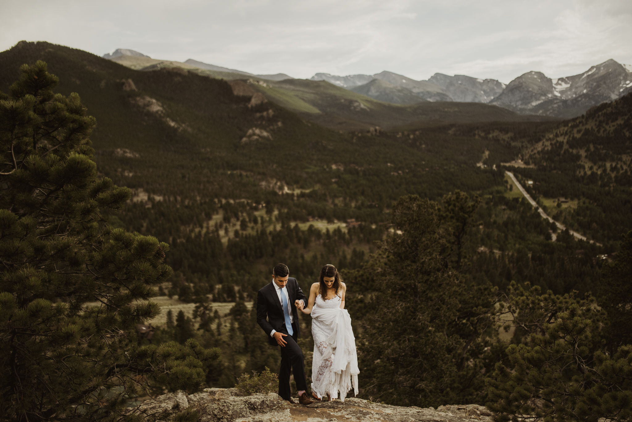©Isaiah + Taylor Photography - Estes National Park Adventure Elopement, Colorado Rockies-136.jpg