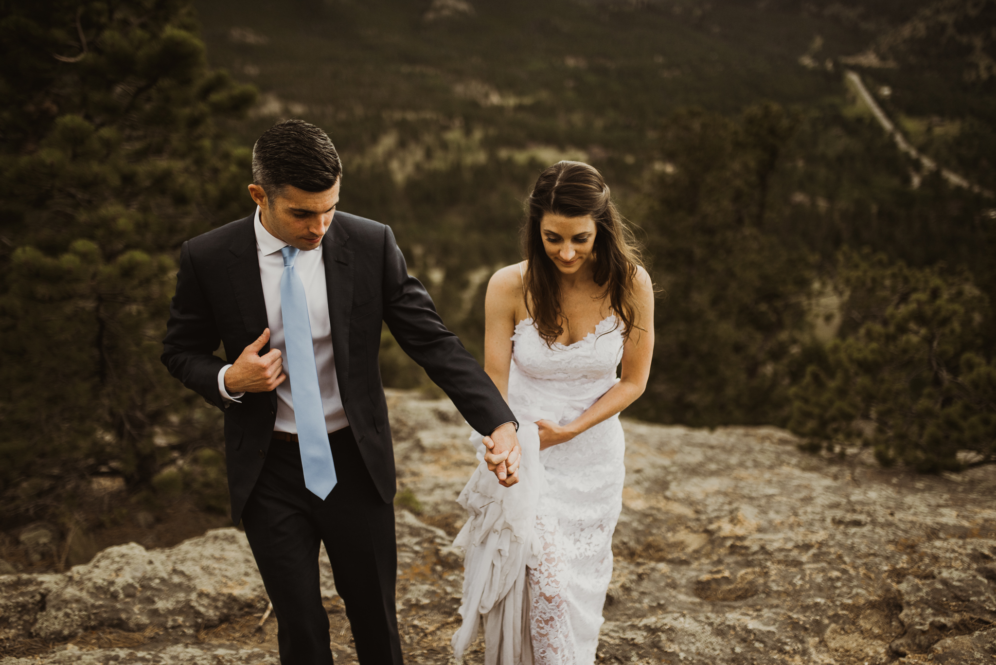 ©Isaiah + Taylor Photography - Estes National Park Adventure Elopement, Colorado Rockies-137.jpg