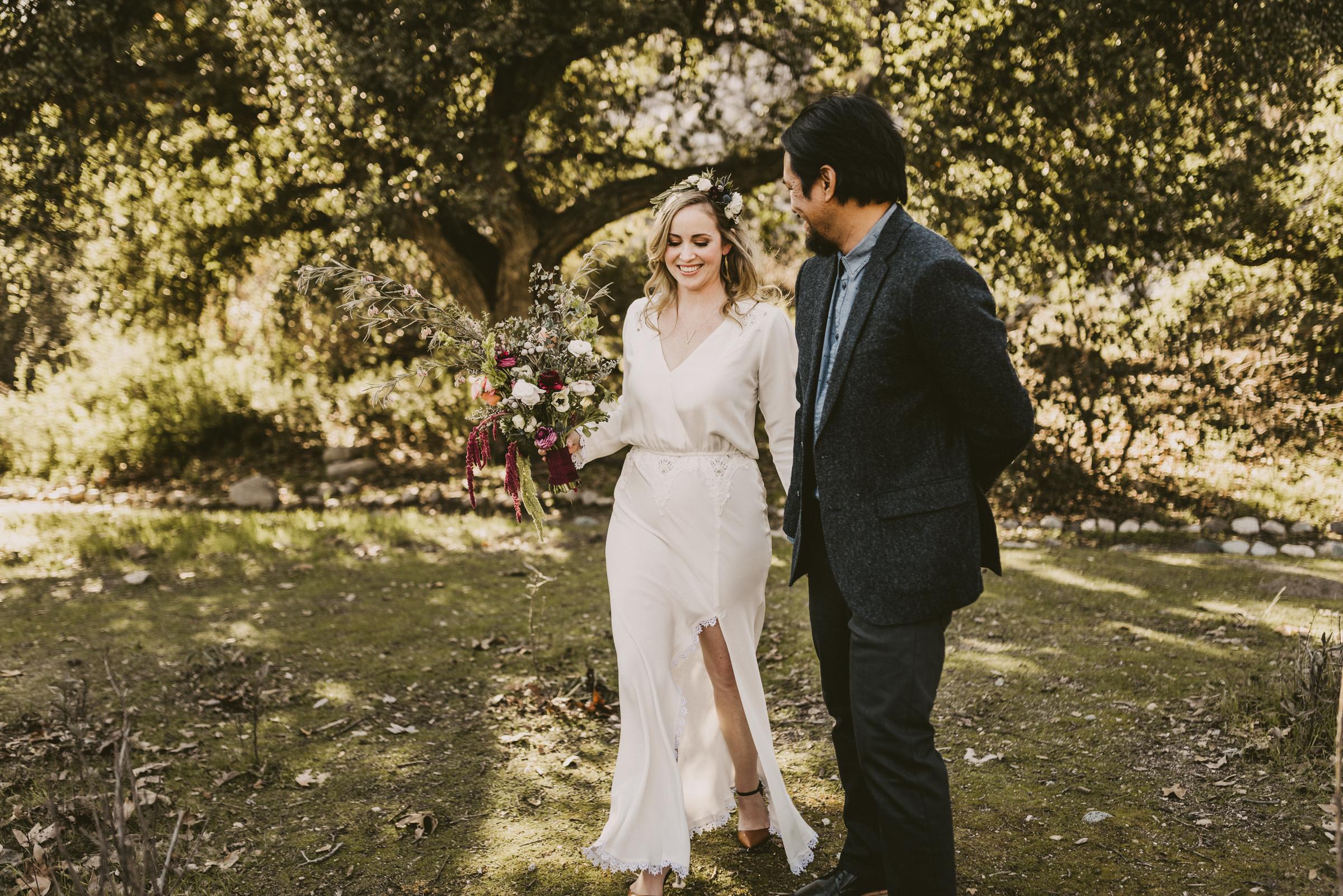 ©Isaiah + Taylor Photography - Intimate Elopement, Eaton Canyon, Los Angeles Wedding Photographer-12.jpg