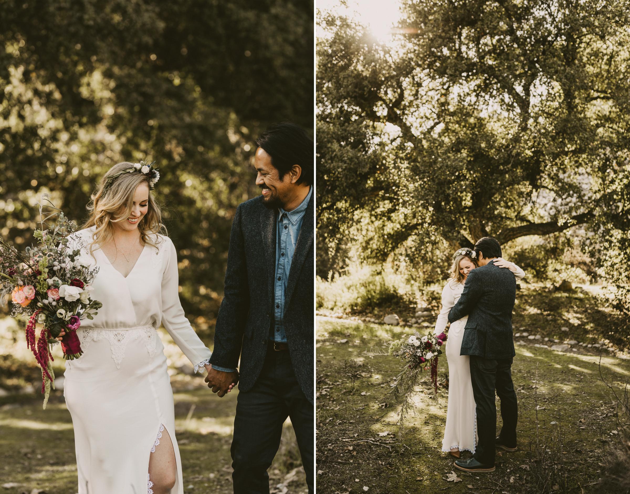 ©Isaiah + Taylor Photography - Intimate Elopement, Eaton Canyon, Los Angeles Wedding Photographer-13.jpg