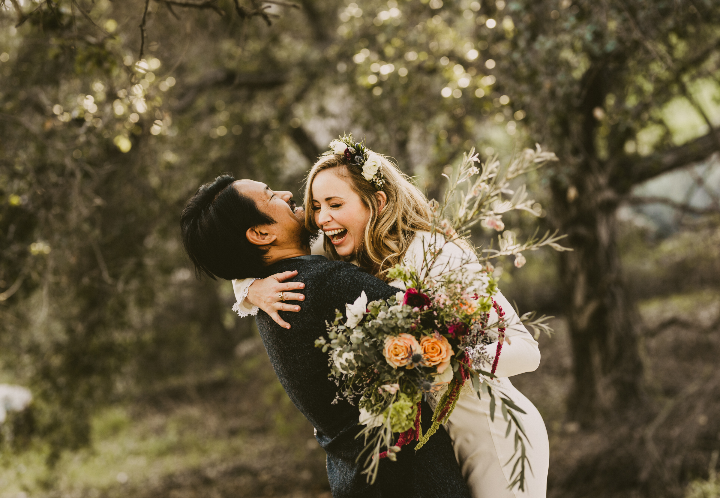©Isaiah + Taylor Photography - Intimate Elopement, Eaton Canyon, Los Angeles Wedding Photographer-16.jpg
