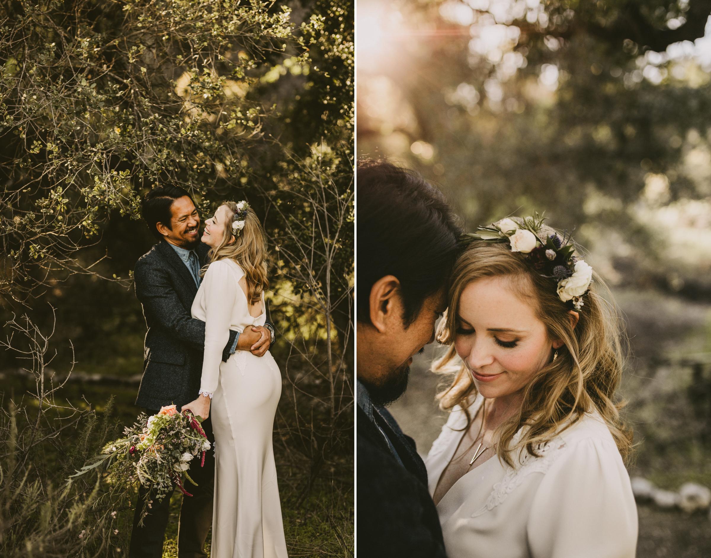 ©Isaiah + Taylor Photography - Intimate Elopement, Eaton Canyon, Los Angeles Wedding Photographer-24.jpg