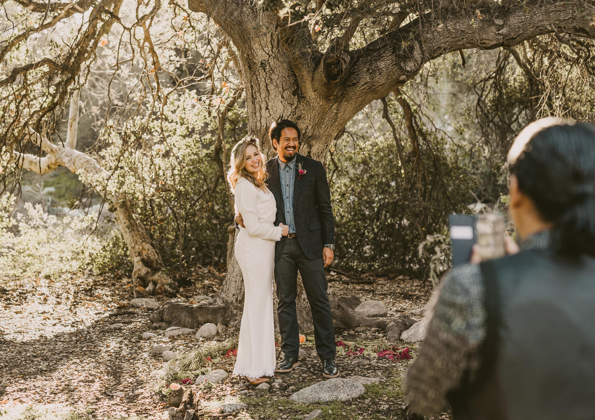 ©Isaiah + Taylor Photography - Intimate Elopement, Eaton Canyon, Los Angeles Wedding Photographer-38.jpg