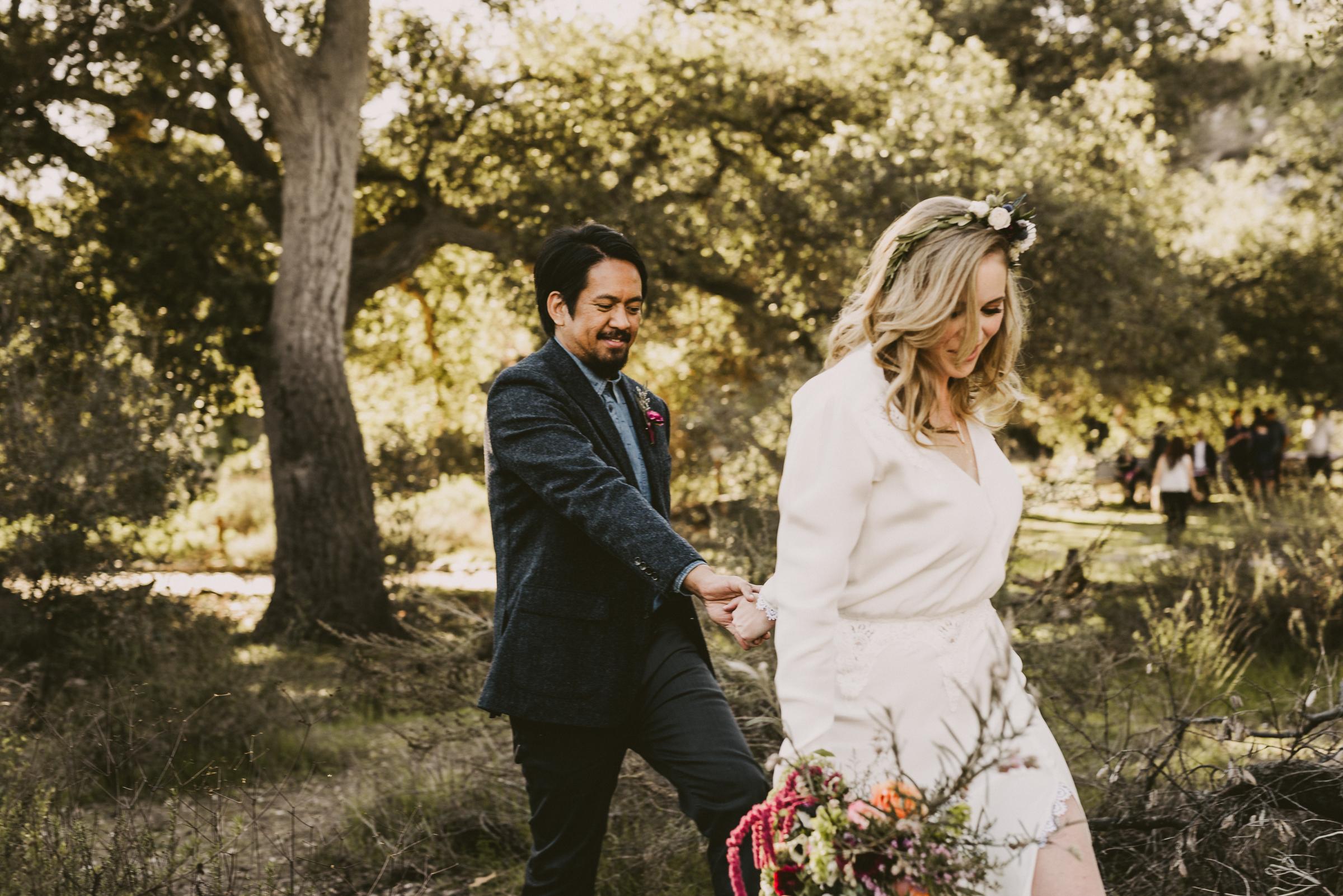 ©Isaiah + Taylor Photography - Intimate Elopement, Eaton Canyon, Los Angeles Wedding Photographer-53.jpg