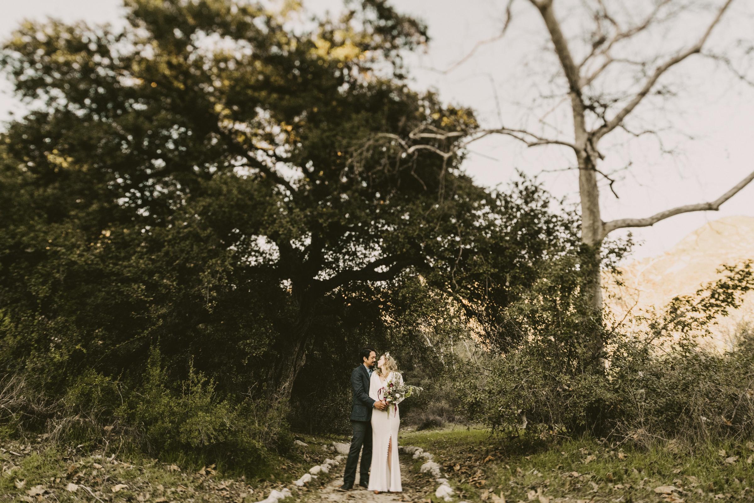 ©Isaiah + Taylor Photography - Intimate Elopement, Eaton Canyon, Los Angeles Wedding Photographer-54.jpg