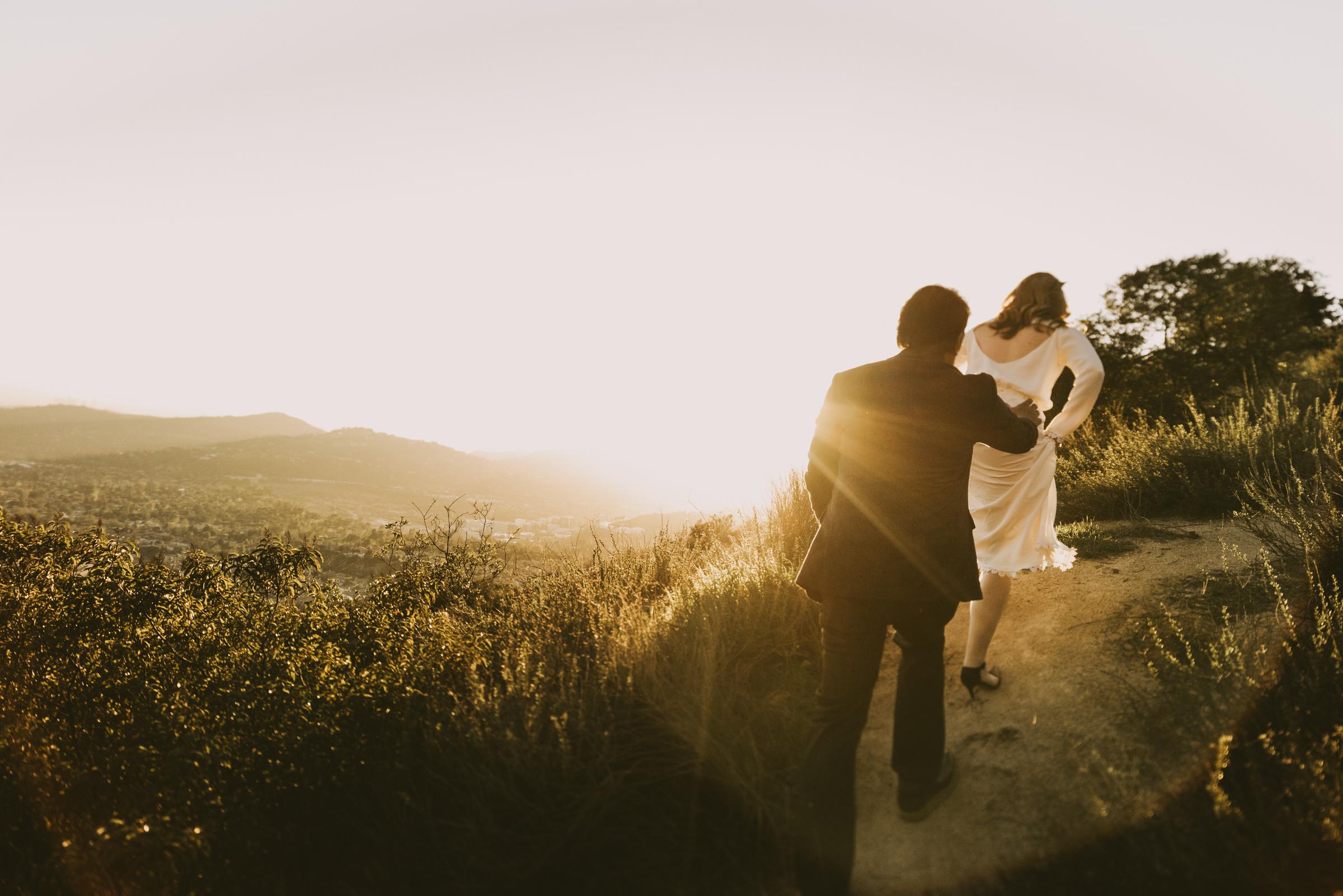 ©Isaiah + Taylor Photography - Intimate Elopement, Eaton Canyon, Los Angeles Wedding Photographer-63.jpg