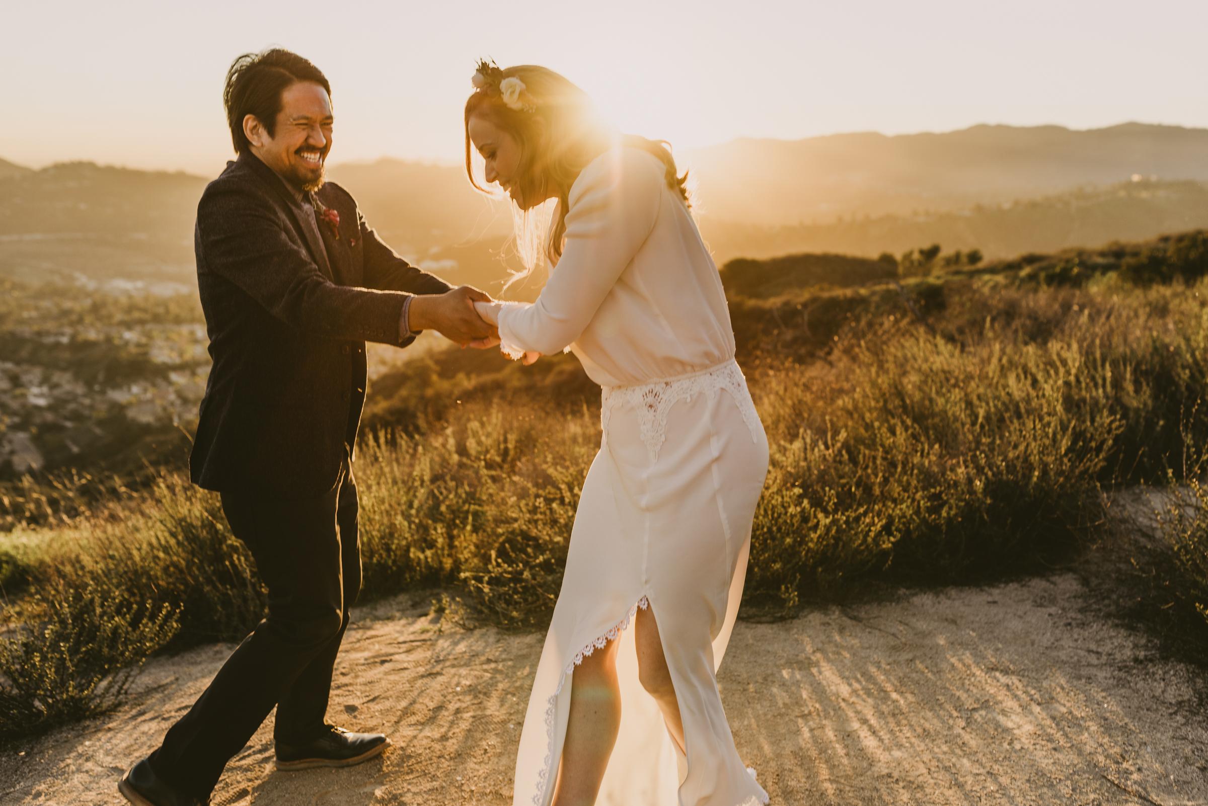 ©Isaiah + Taylor Photography - Intimate Elopement, Eaton Canyon, Los Angeles Wedding Photographer-80.jpg