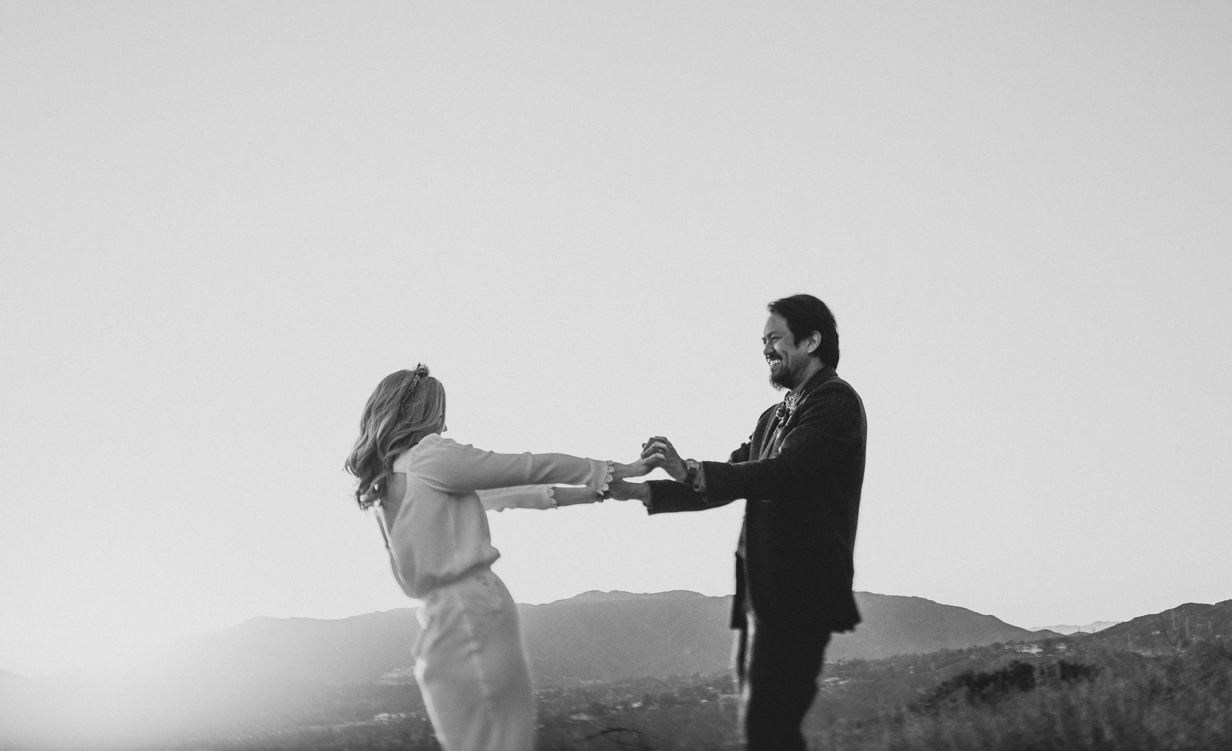 ©Isaiah + Taylor Photography - Intimate Elopement, Eaton Canyon, Los Angeles Wedding Photographer-103.jpg