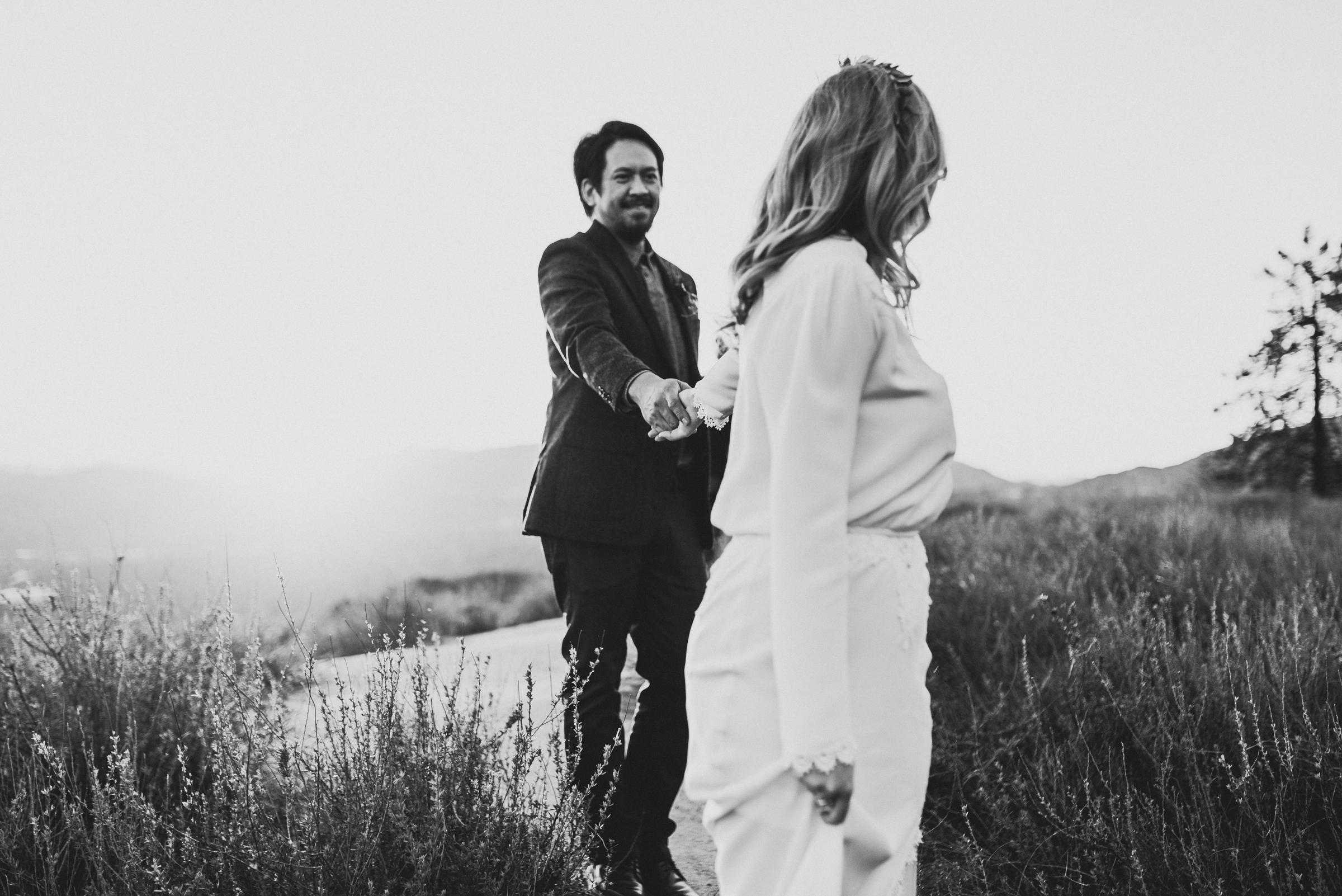 ©Isaiah + Taylor Photography - Intimate Elopement, Eaton Canyon, Los Angeles Wedding Photographer-106.jpg