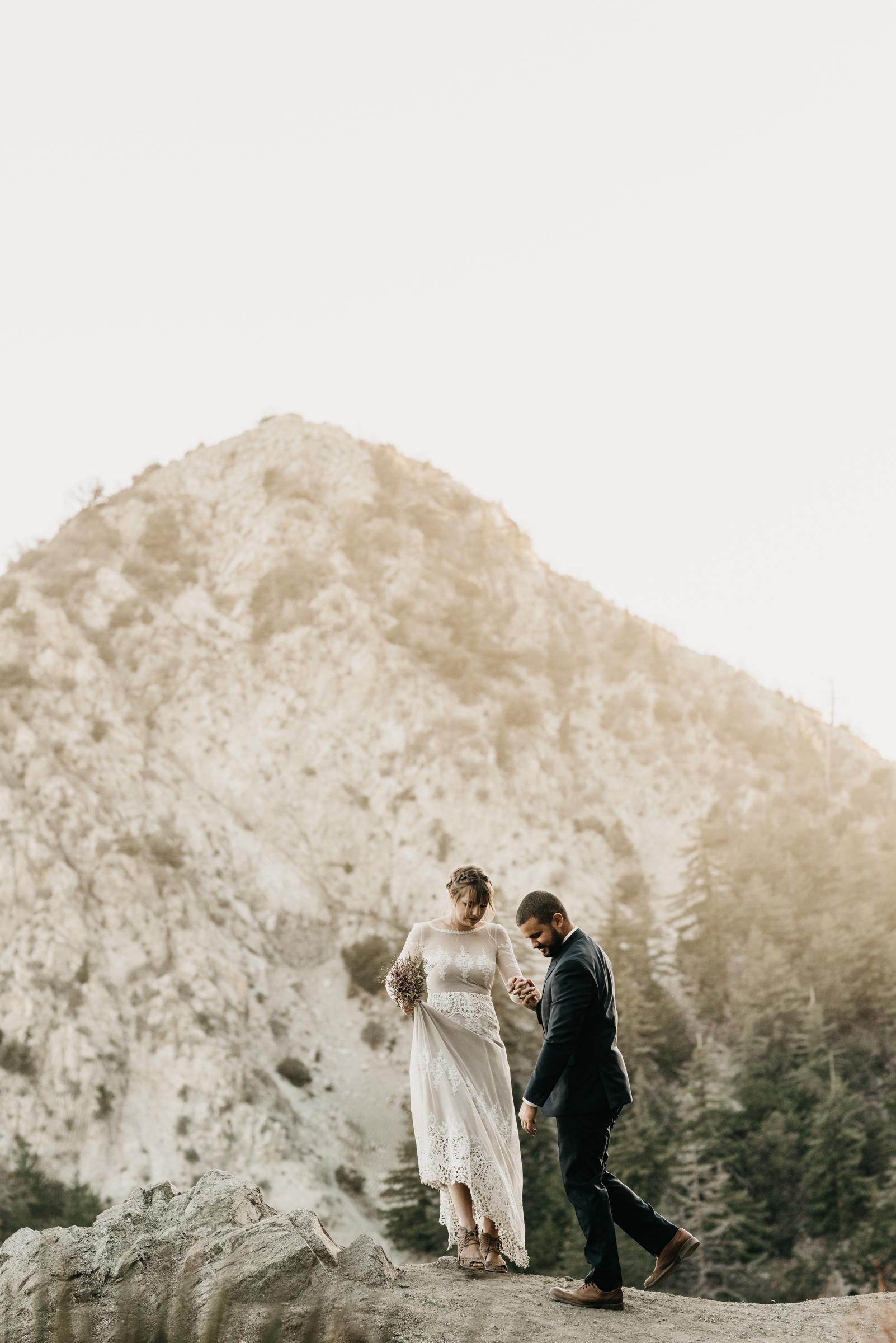 ©Isaiah + Taylor Photography - Los Angeles Wedding Photographers - Los Angeles Forest Wedding -75.jpg