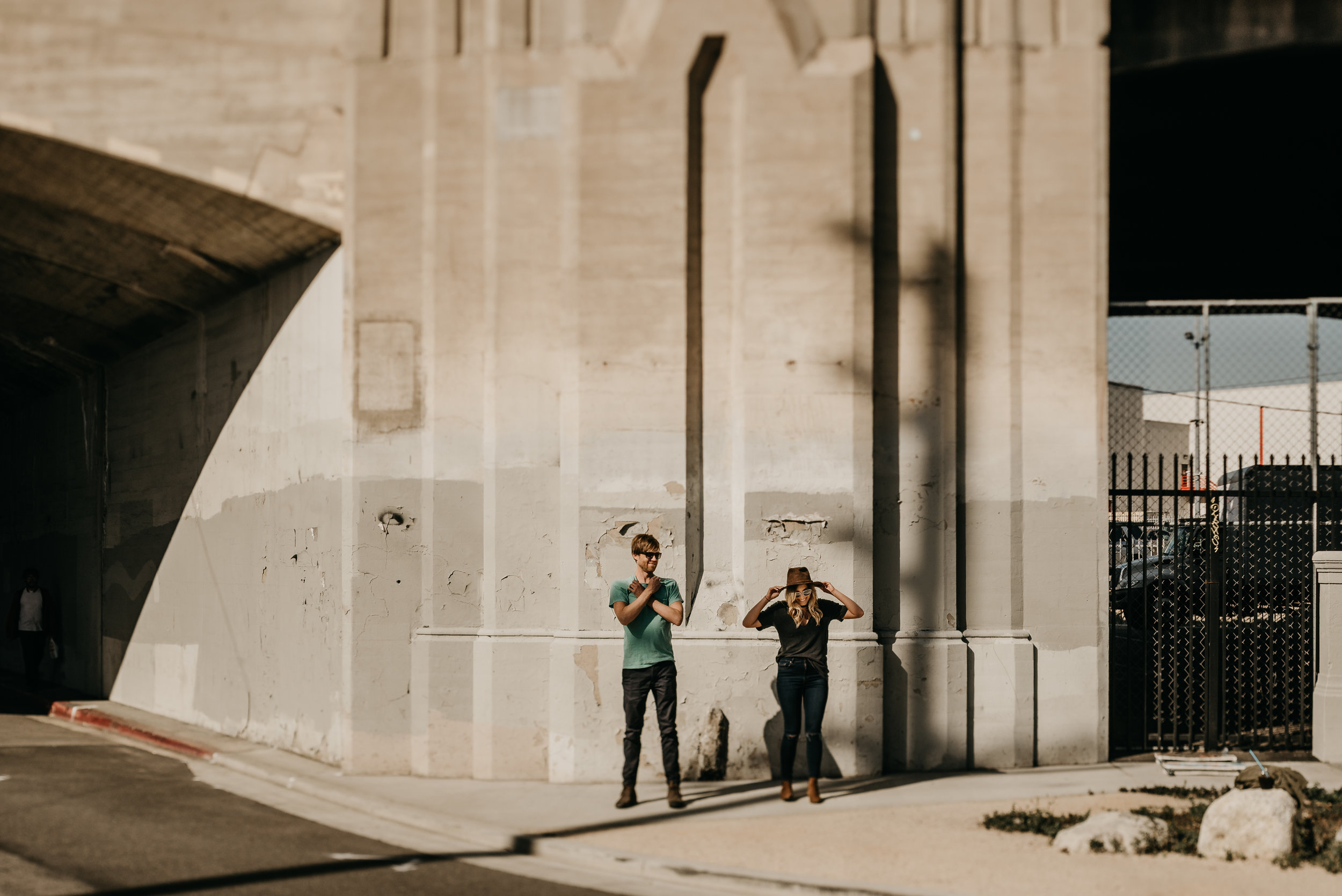 © Isaiah + Taylor Photography -Downtown Los Angeles Arts District Laid-back engagement session - Los Angeles Wedding Photographer-006.jpg