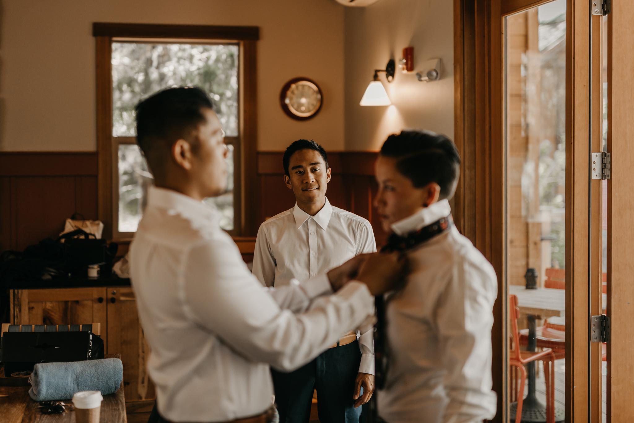 © Isaiah + Taylor Photography - Evergreen Lodge Destination Yoesmite Wedding - Los Angeles Wedding Photographer-032.jpg