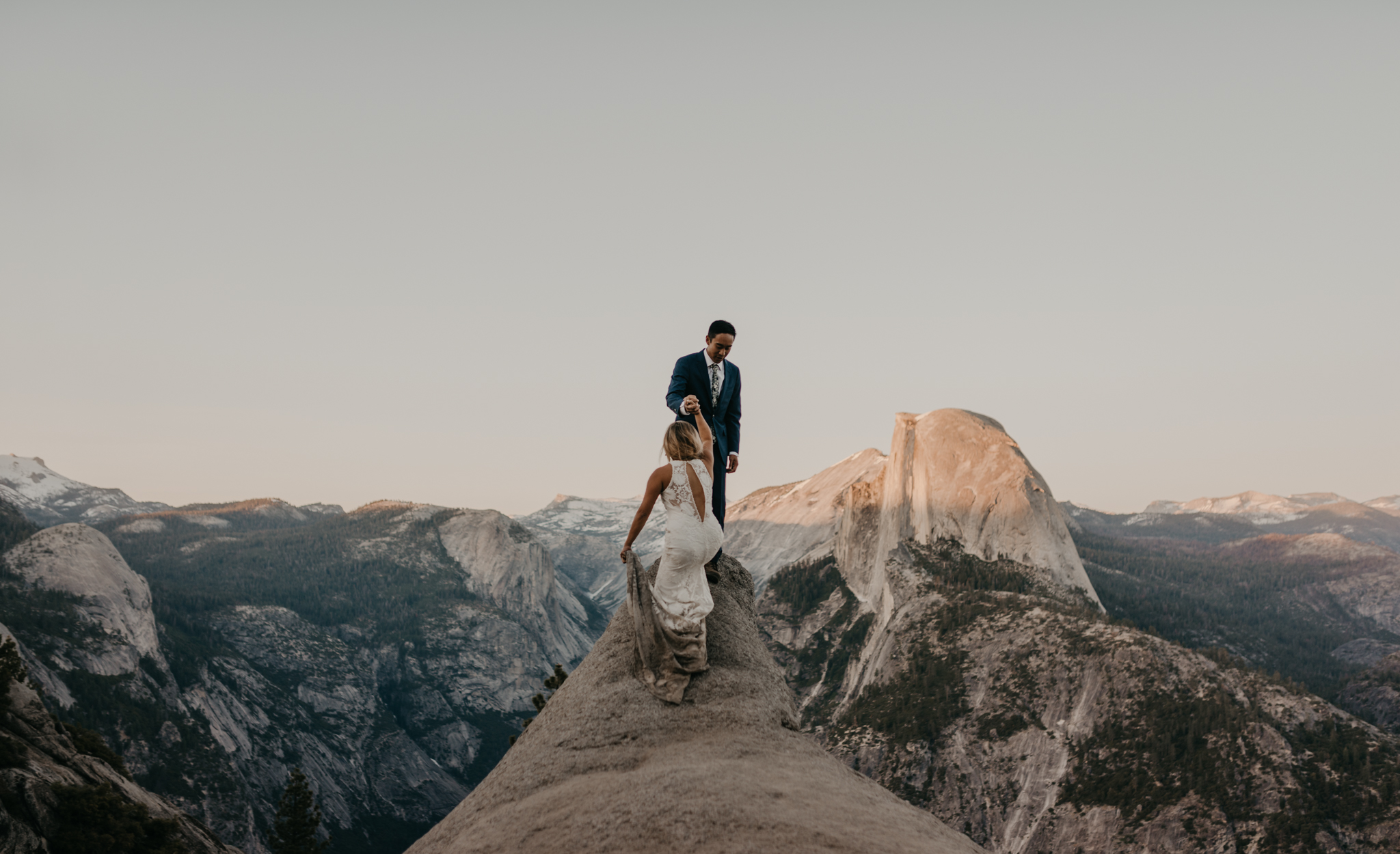 © Isaiah + Taylor Photography - Yosemite Nationanl Park Elopement Photographer - Evergreen Lodge Wedding-057.jpg