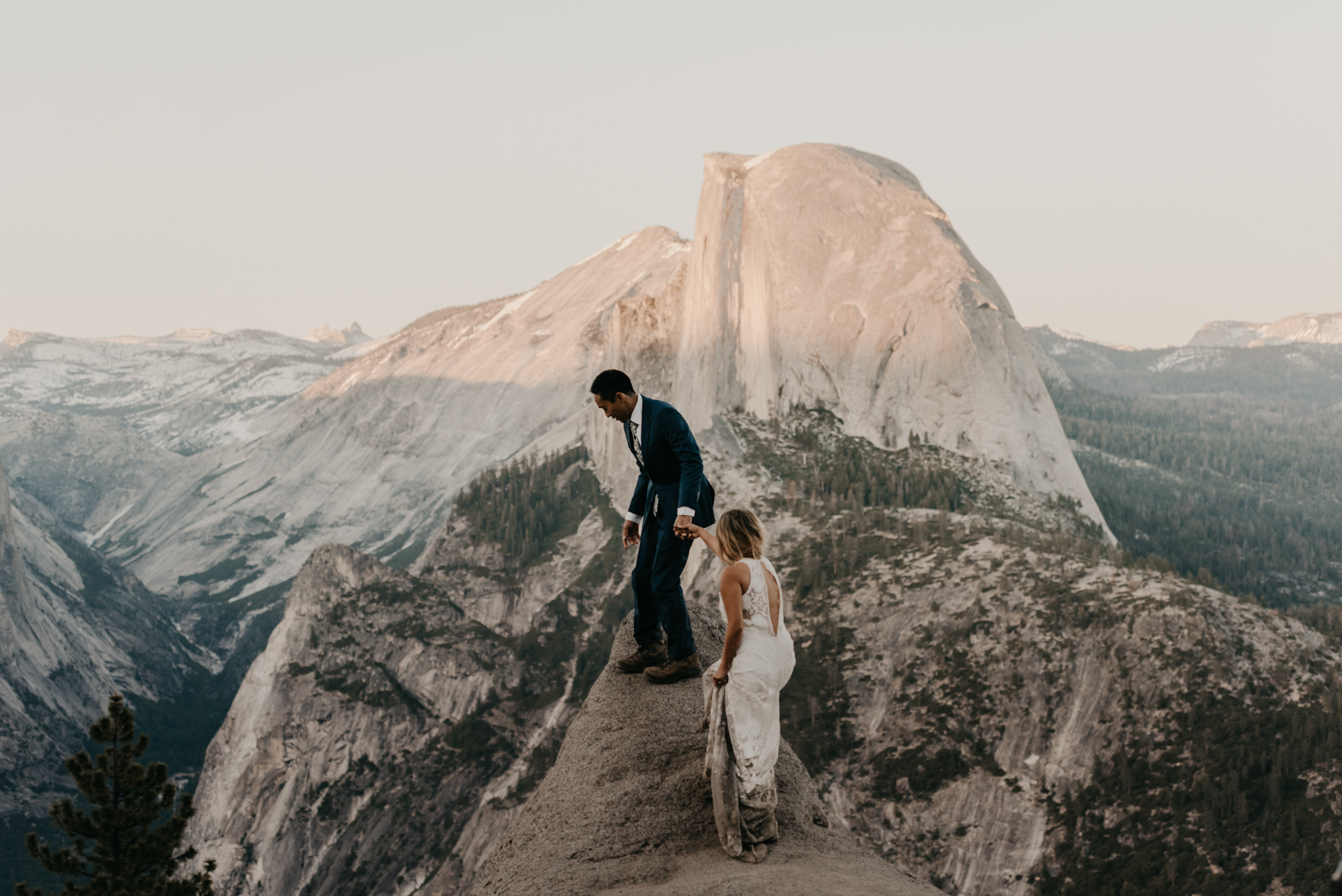 © Isaiah + Taylor Photography - Yosemite Nationanl Park Elopement Photographer - Evergreen Lodge Wedding-056.jpg