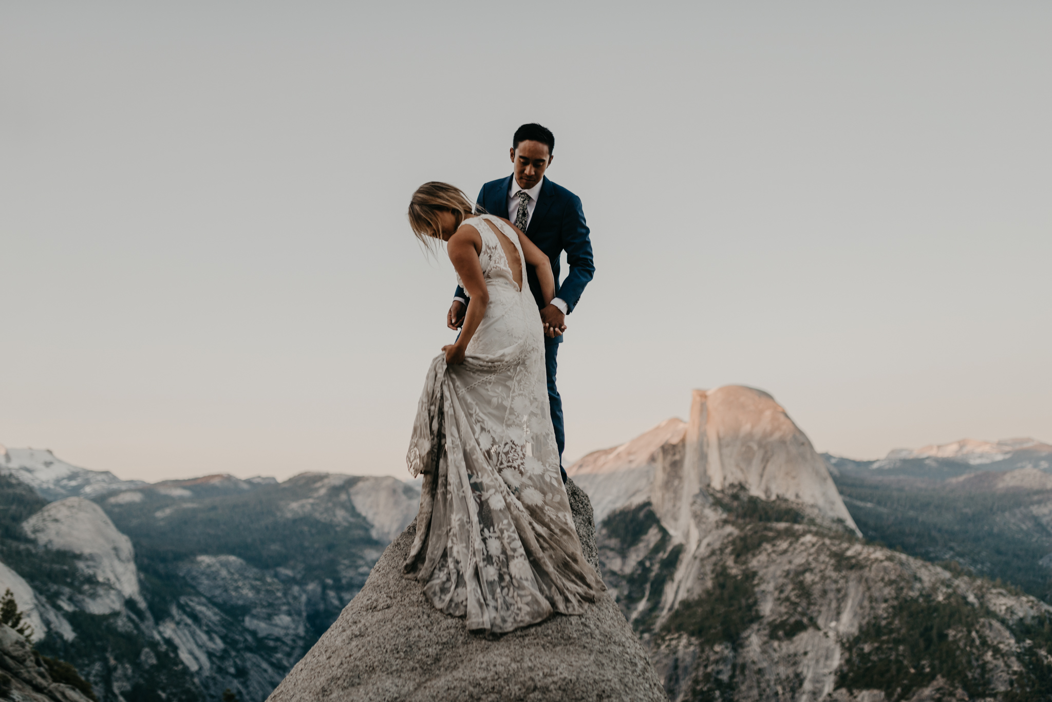 © Isaiah + Taylor Photography - Yosemite Nationanl Park Elopement Photographer - Evergreen Lodge Wedding-062.jpg