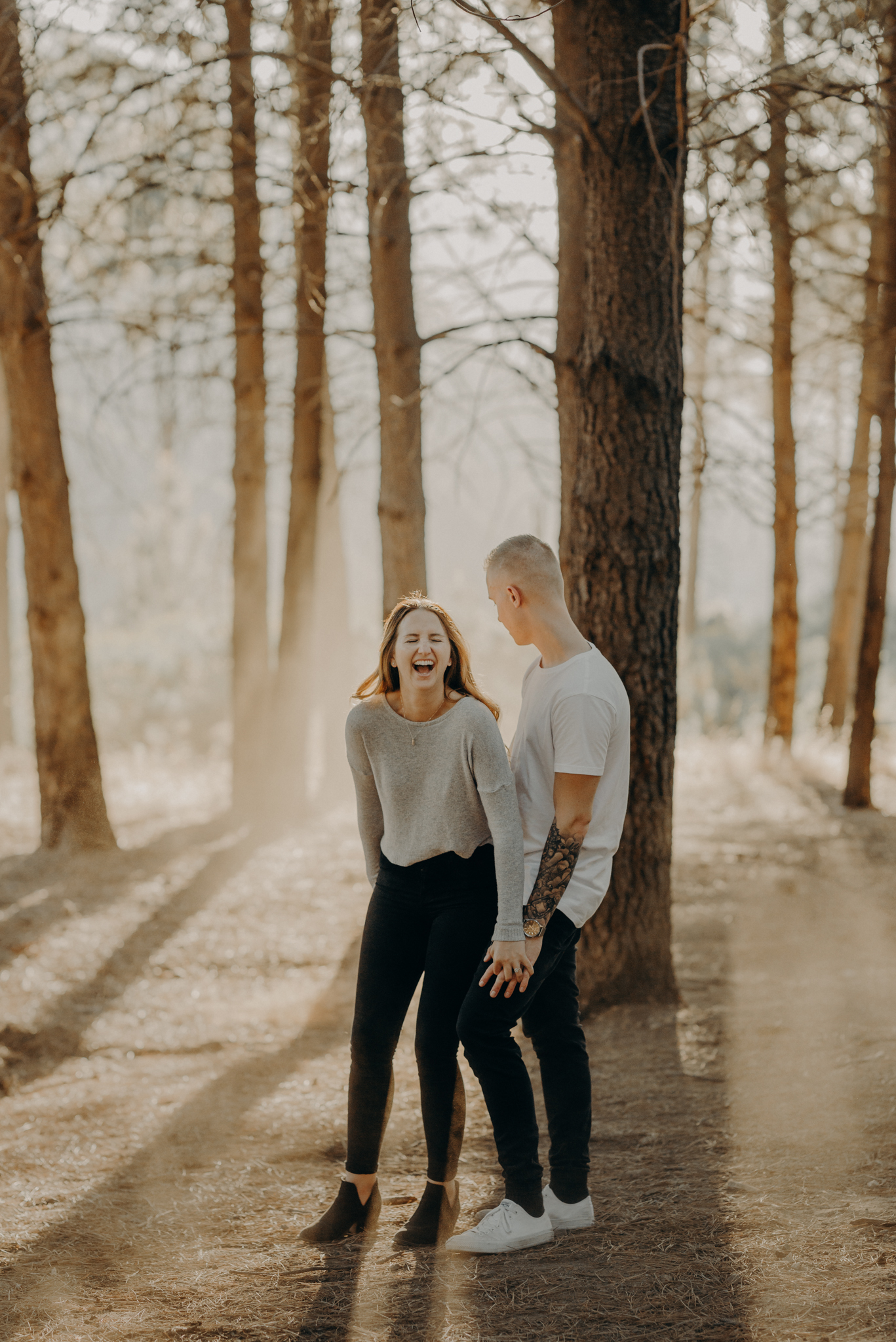 Isaiah + Taylor Photography - Los Angeles Forest Engagement, Laid-back Wedding Photographer-077.jpg