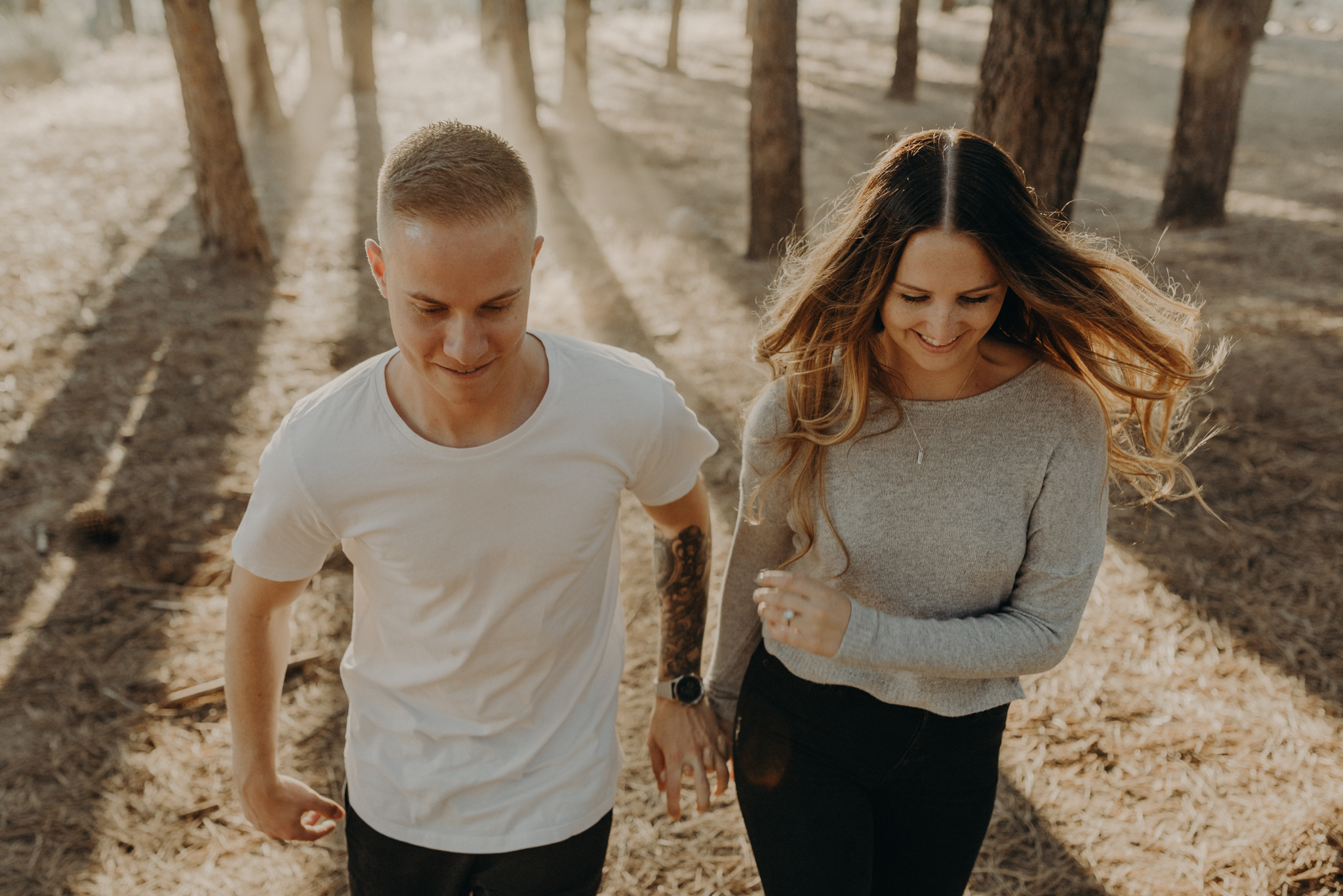 Isaiah + Taylor Photography - Los Angeles Forest Engagement, Laid-back Wedding Photographer-084.jpg