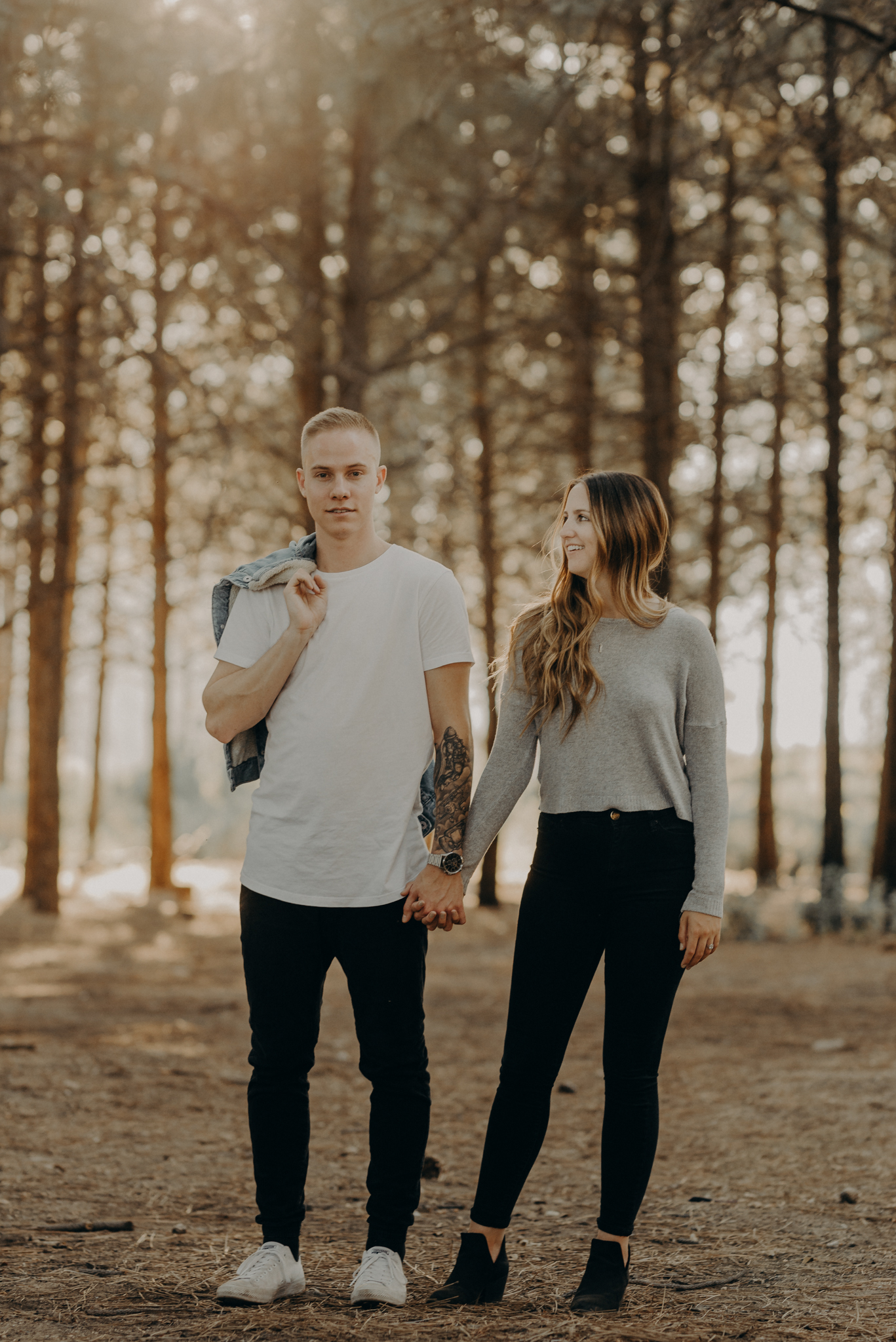 Isaiah + Taylor Photography - Los Angeles Forest Engagement, Laid-back Wedding Photographer-086.jpg