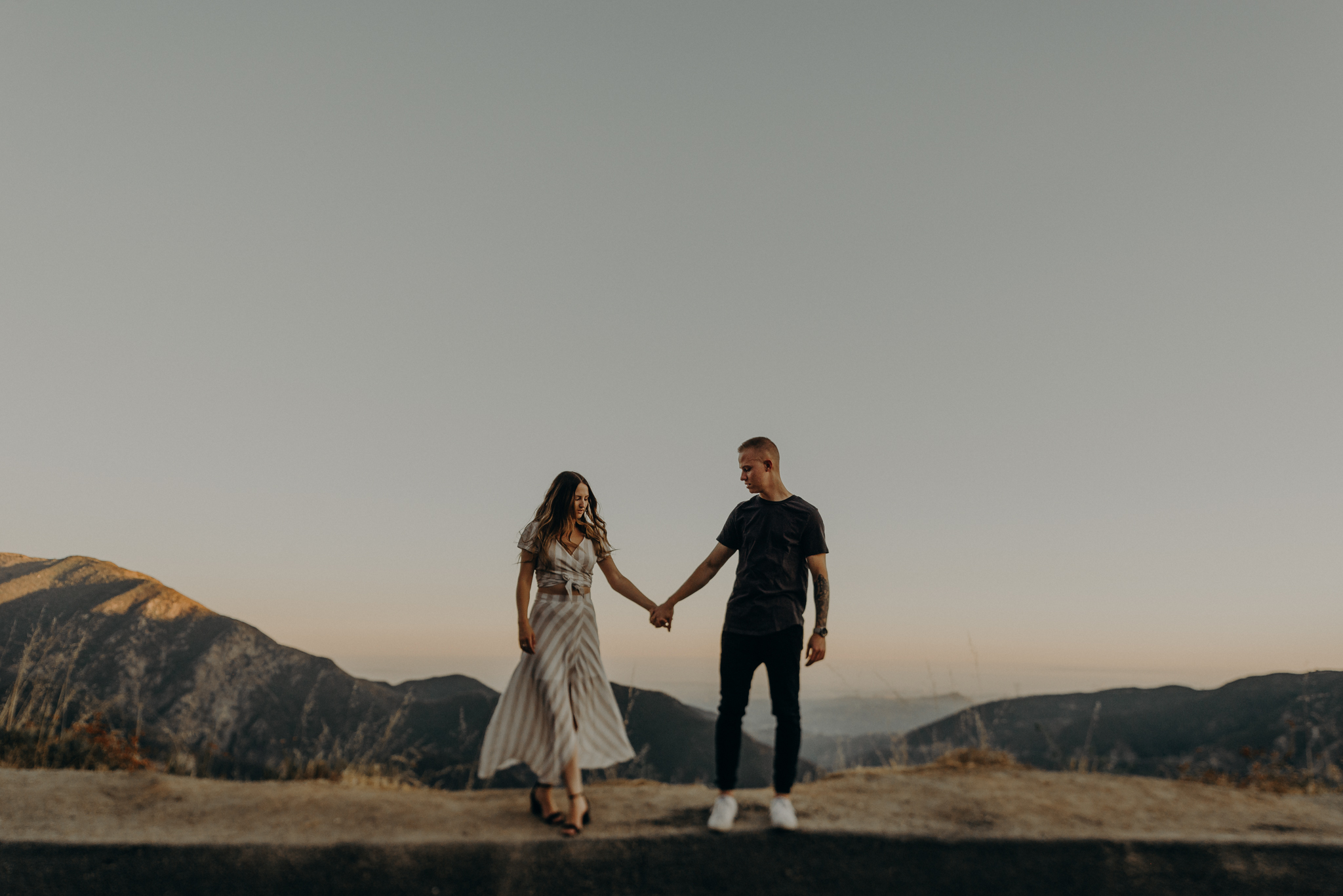 Isaiah + Taylor Photography - Los Angeles Forest Engagement Session - Laid back wedding photographer-003.jpg