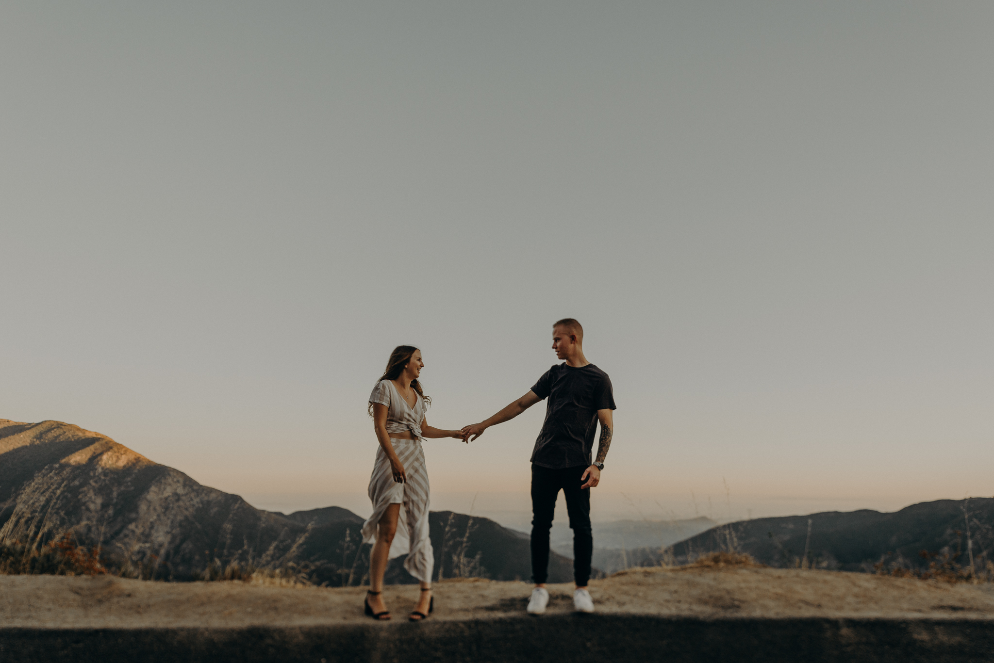 Isaiah + Taylor Photography - Los Angeles Forest Engagement Session - Laid back wedding photographer-005.jpg