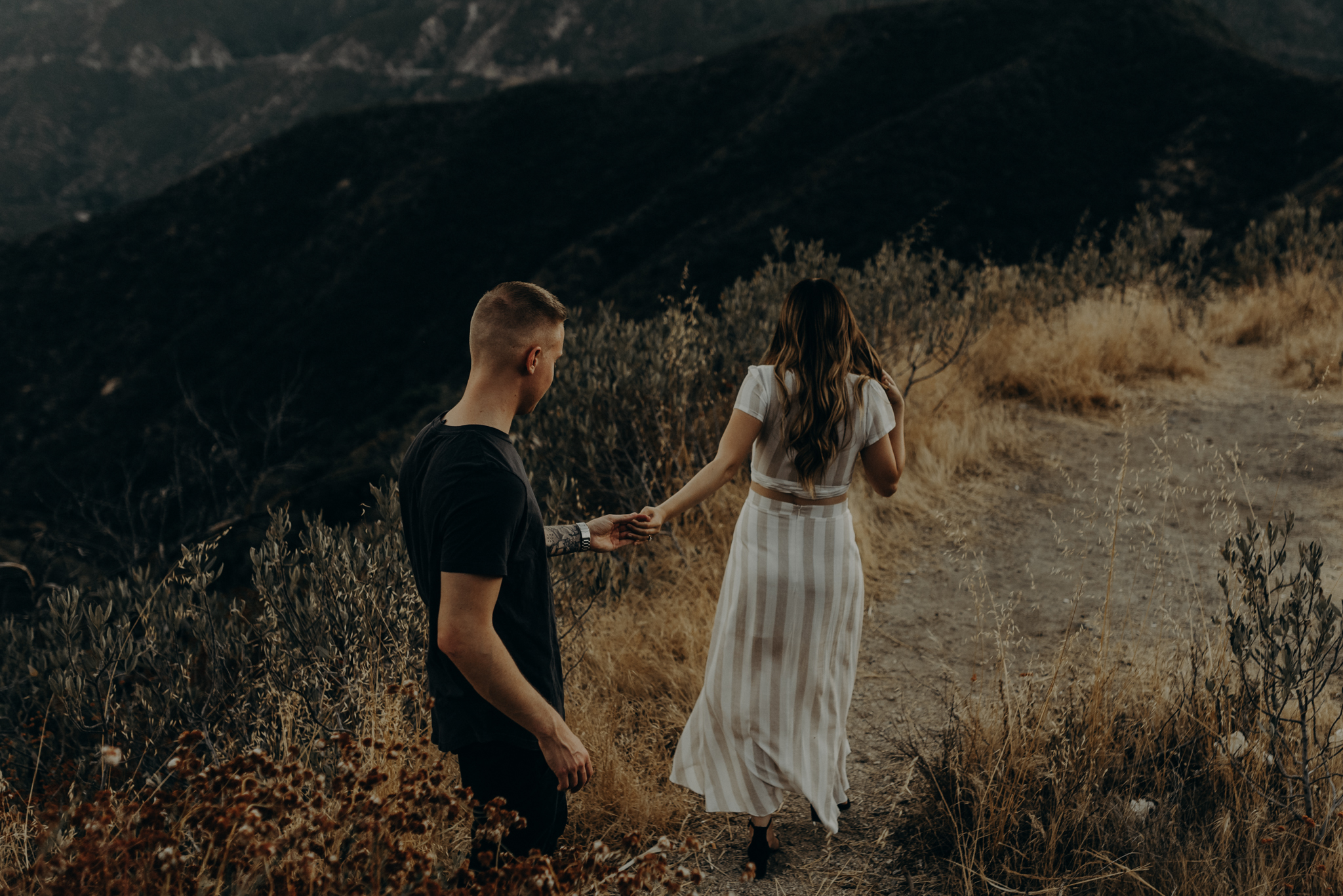 Isaiah + Taylor Photography - Los Angeles Forest Engagement Session - Laid back wedding photographer-018.jpg