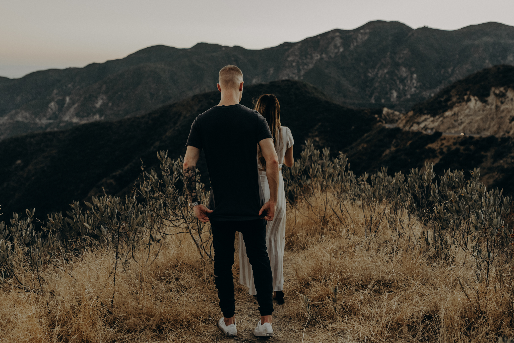 Isaiah + Taylor Photography - Los Angeles Forest Engagement Session - Laid back wedding photographer-019.jpg