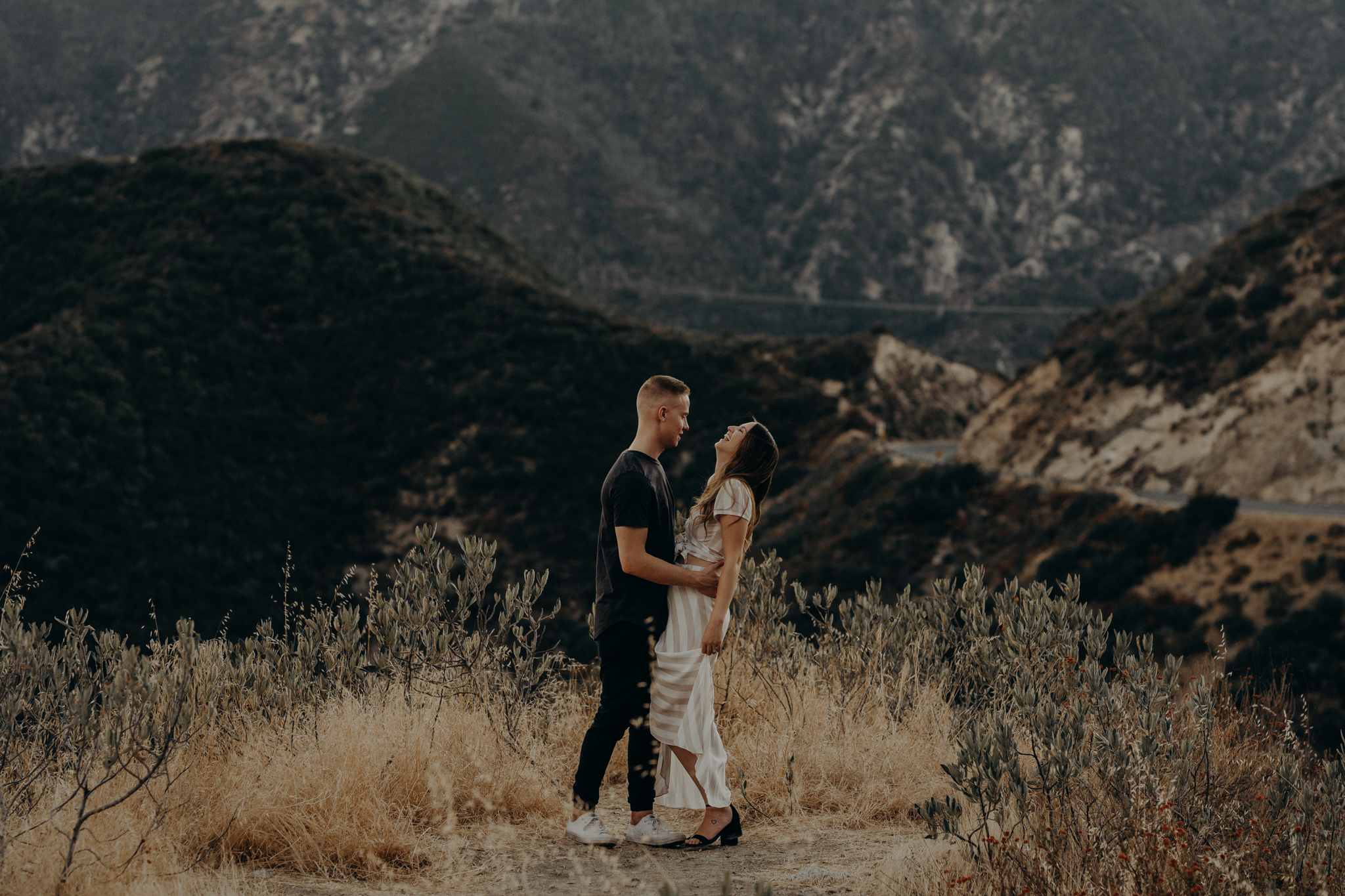 Isaiah + Taylor Photography - Los Angeles Forest Engagement Session - Laid back wedding photographer-020.jpg