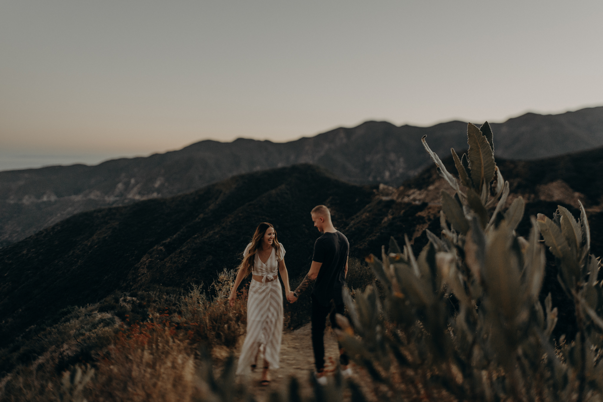 Isaiah + Taylor Photography - Los Angeles Forest Engagement Session - Laid back wedding photographer-041.jpg