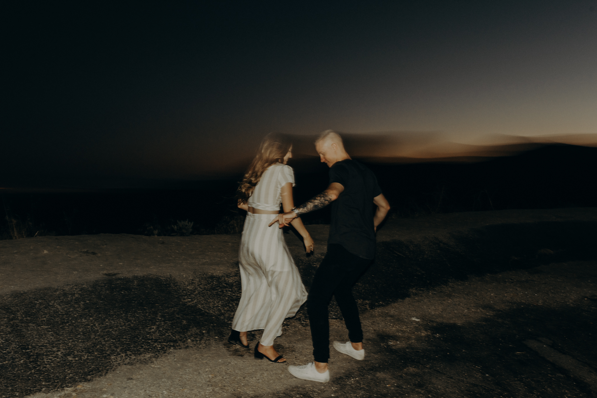 Isaiah + Taylor Photography - Los Angeles Forest Engagement Session - Laid back wedding photographer-059.jpg