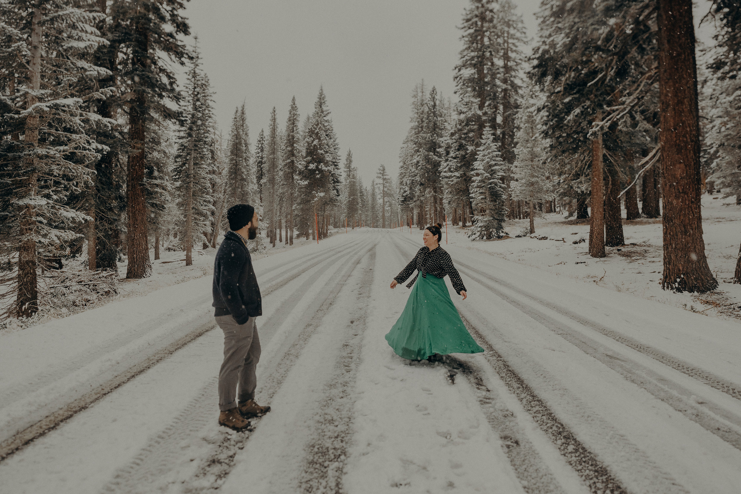 ©Isaiah + Taylor Photography - Los Angeles Wedding Photographer - Snowing engagement session-034.jpg