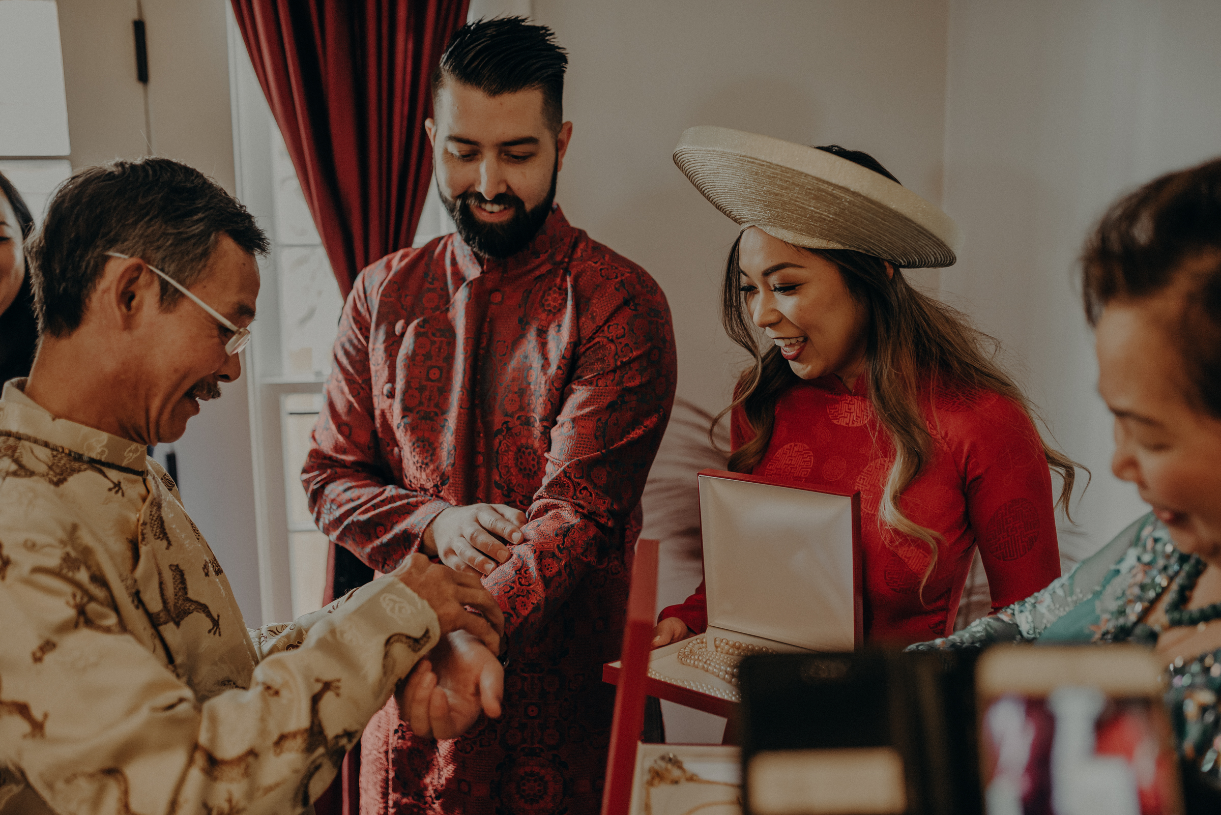 Los Angeles Wedding Photographer - IsaiahAndTaylor.com - The Ebell of Long Beach Wedding - Traditional Vietnamese tea ceremony-055.jpg