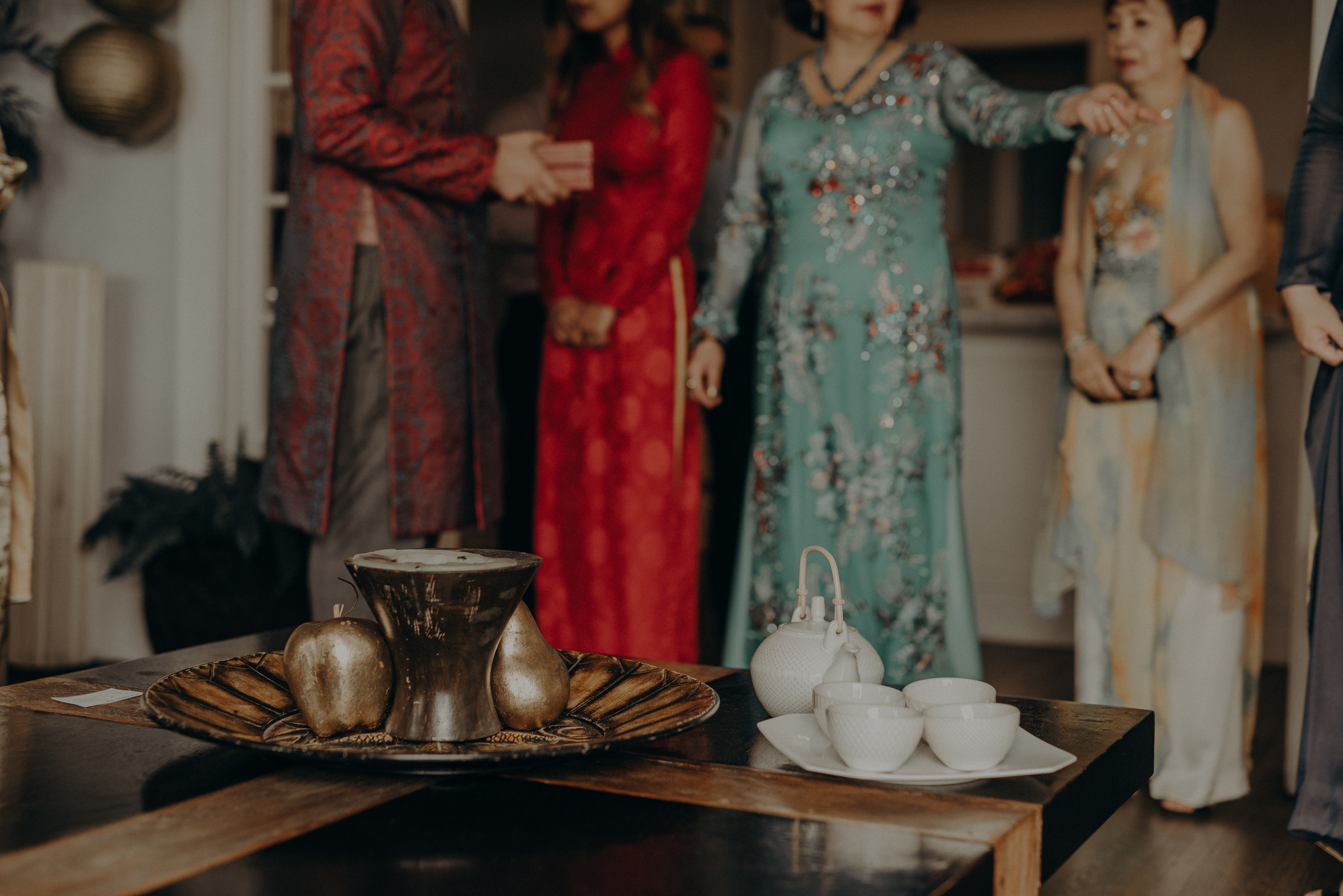 Los Angeles Wedding Photographer - IsaiahAndTaylor.com - The Ebell of Long Beach Wedding - Traditional Vietnamese tea ceremony-057.jpg