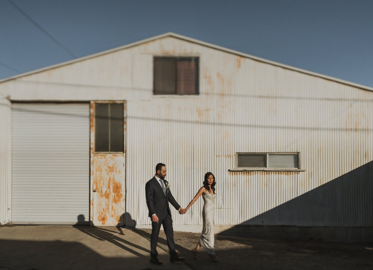Los Angeles Modern Wedding Photography - Long Beach Elopement - IsaiahAndTaylor.com