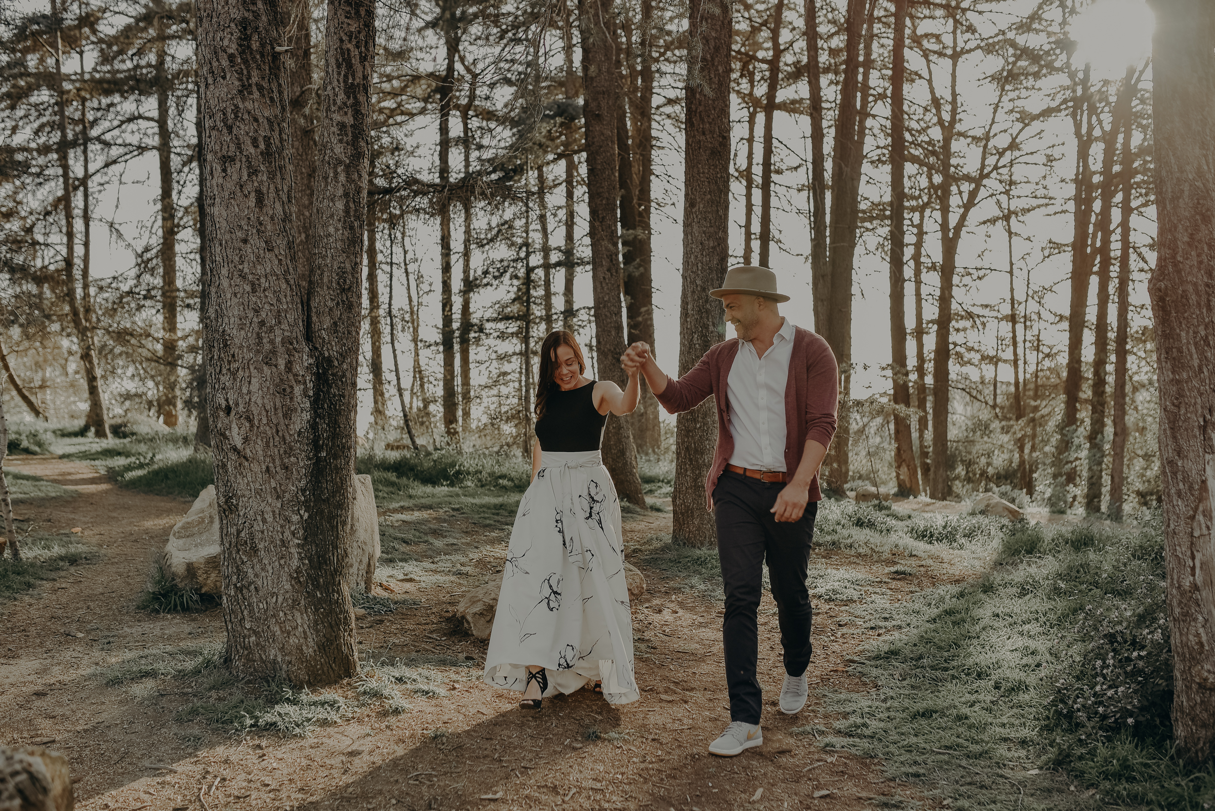 Los Angeles Wedding Photographers - Griffith Park Engagement - IsaiahAndTaylor.com-009.jpg