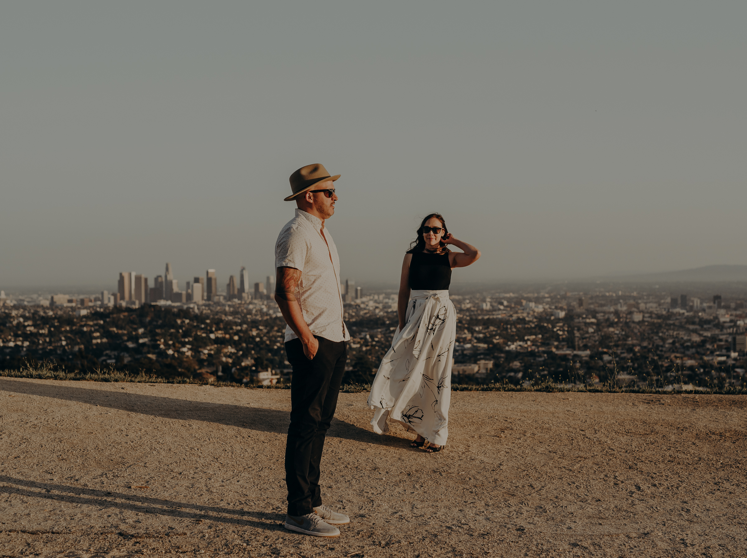 Los Angeles Wedding Photographers - Griffith Park Engagement - IsaiahAndTaylor.com-032.jpg