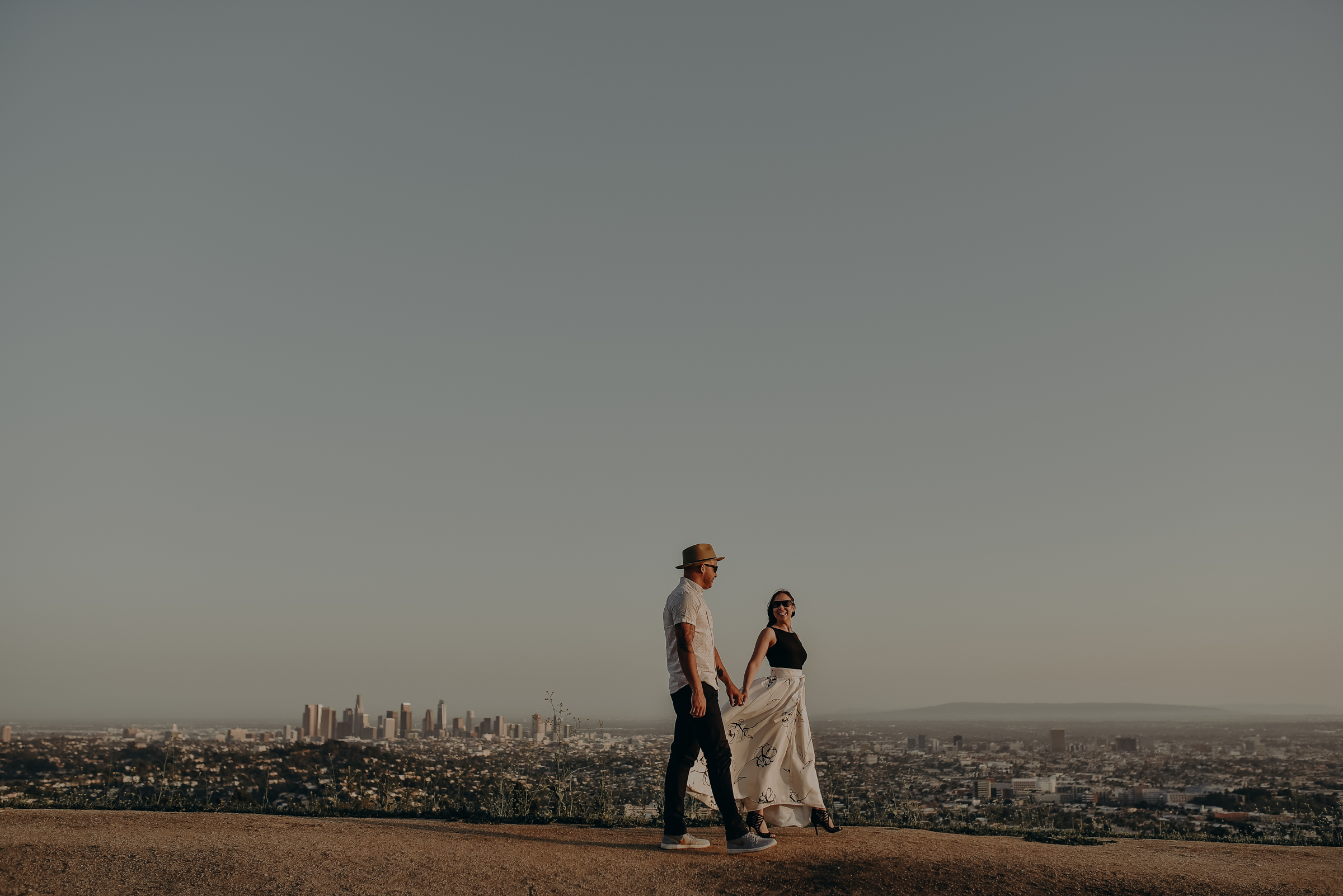 Los Angeles Wedding Photographers - Griffith Park Engagement - IsaiahAndTaylor.com-037.jpg