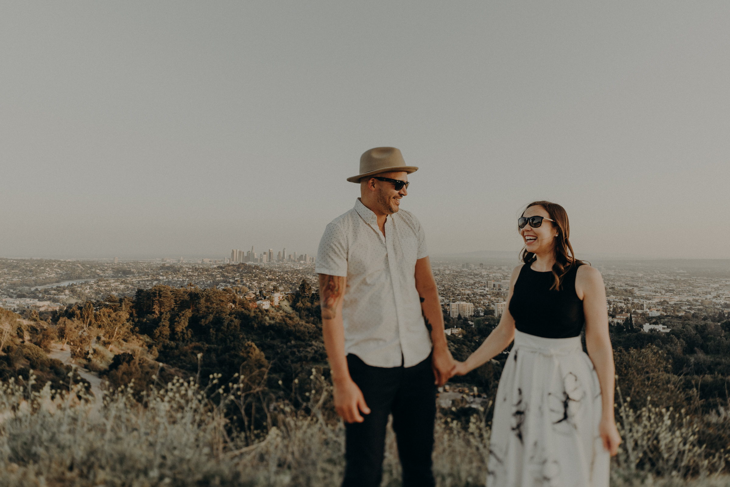 Los Angeles Wedding Photographers - Griffith Park Engagement - IsaiahAndTaylor.com-048.jpg