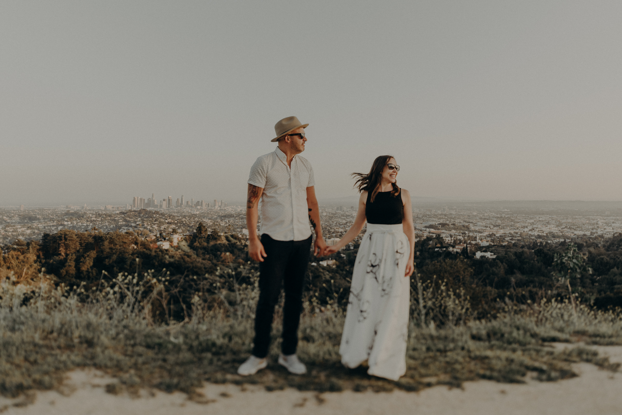 Los Angeles Wedding Photographers - Griffith Park Engagement - IsaiahAndTaylor.com-050.jpg