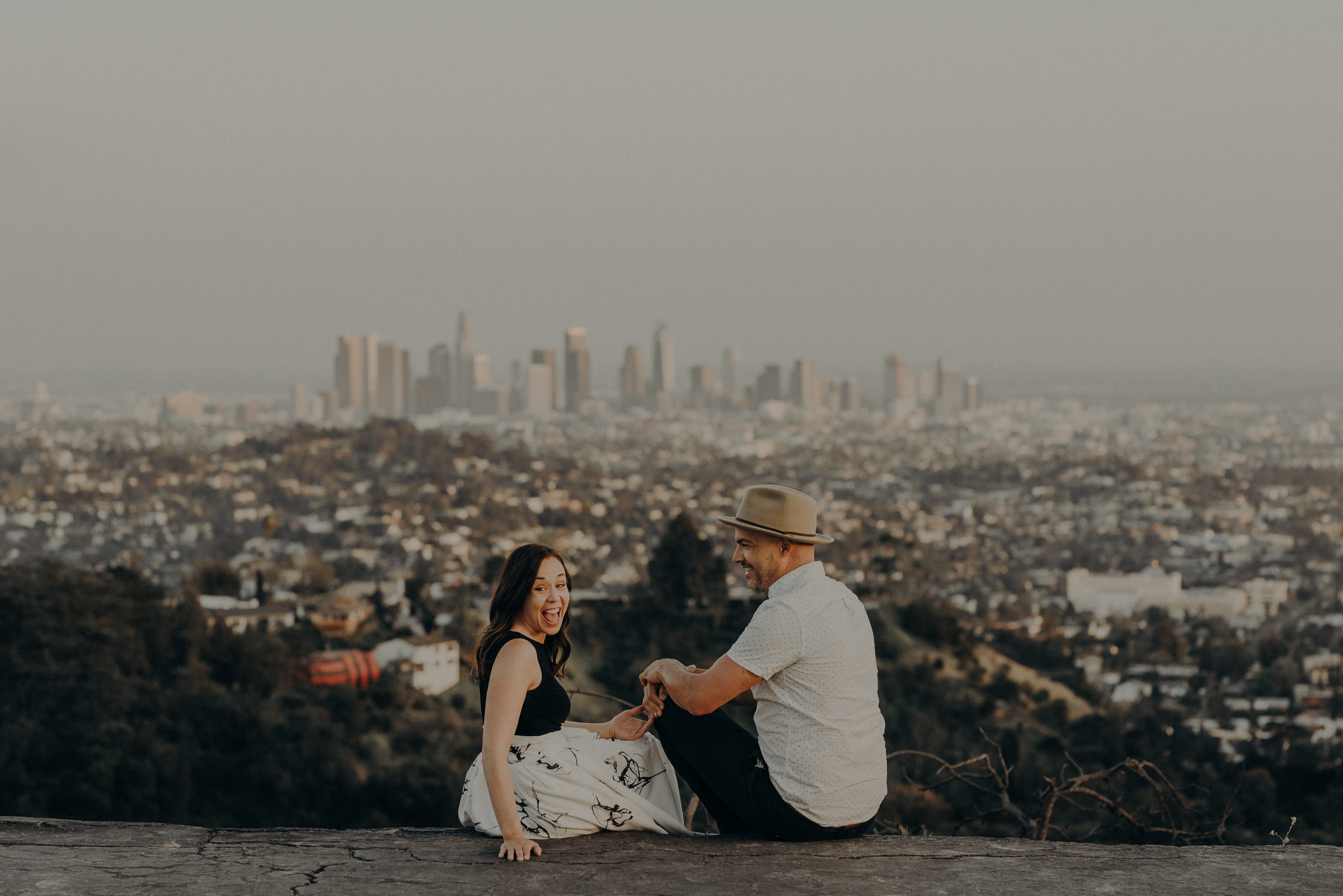Los Angeles Wedding Photographers - Griffith Park Engagement - IsaiahAndTaylor.com-059.jpg