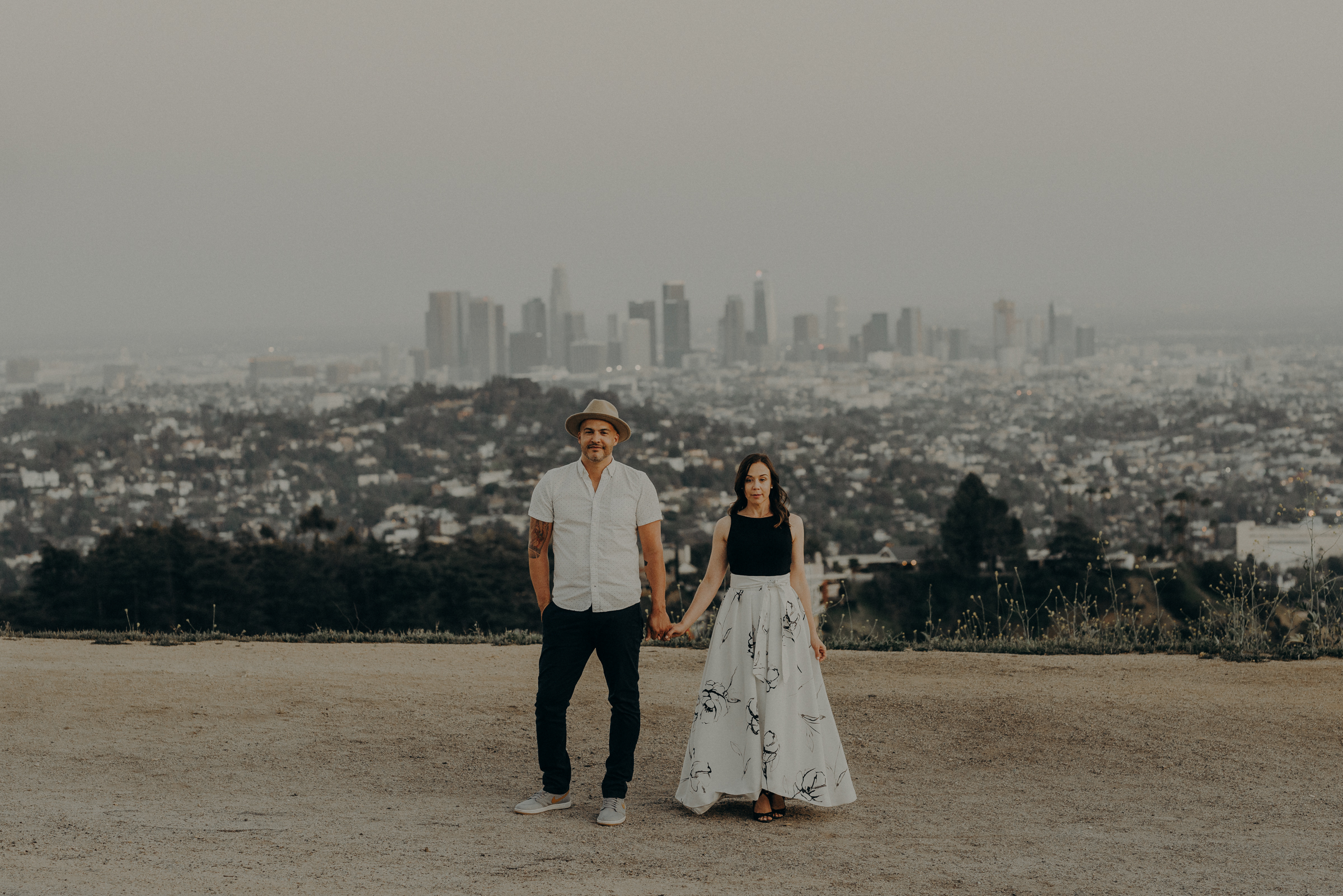 Los Angeles Wedding Photographers - Griffith Park Engagement - IsaiahAndTaylor.com-063.jpg