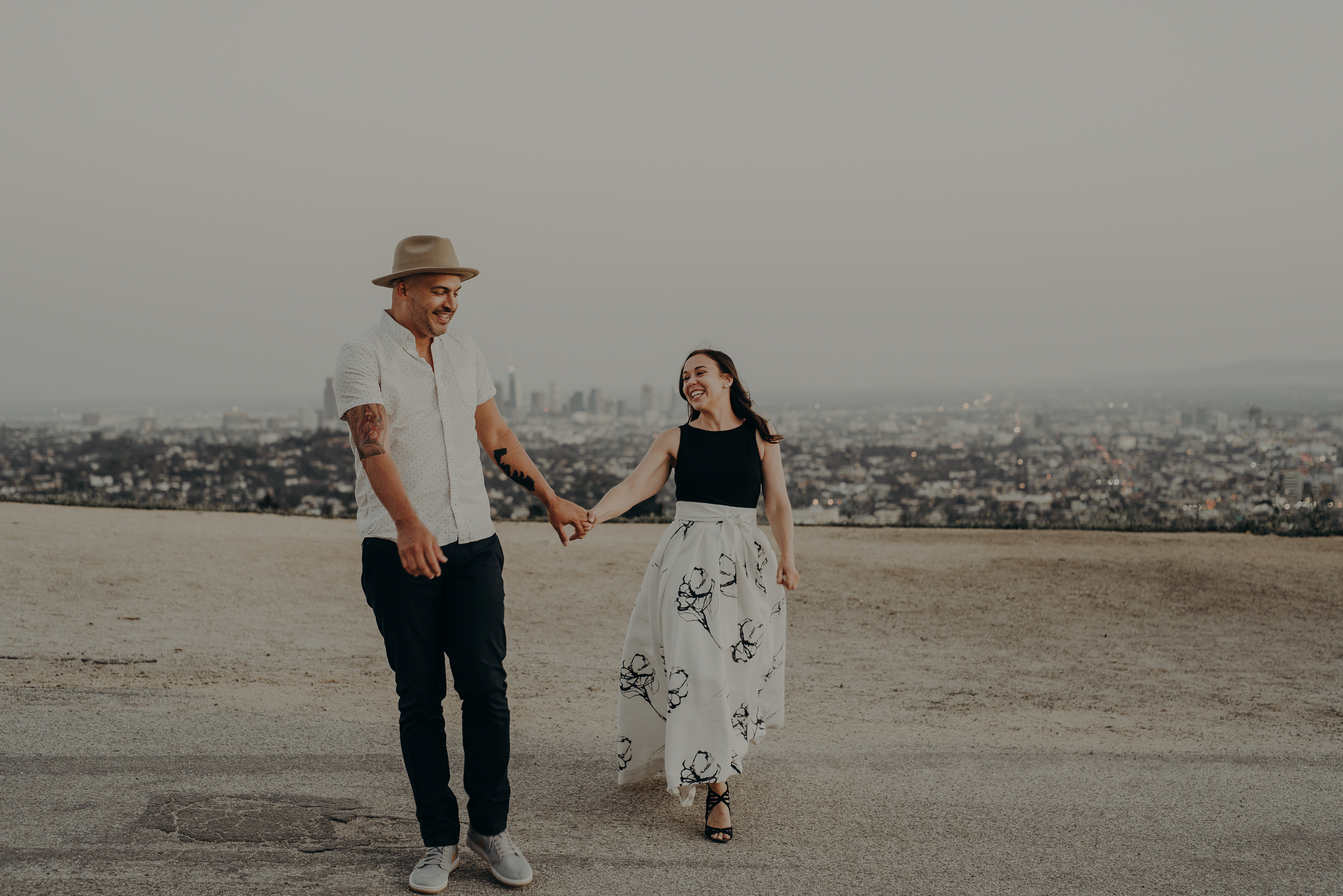 Los Angeles Wedding Photographers - Griffith Park Engagement - IsaiahAndTaylor.com-068.jpg