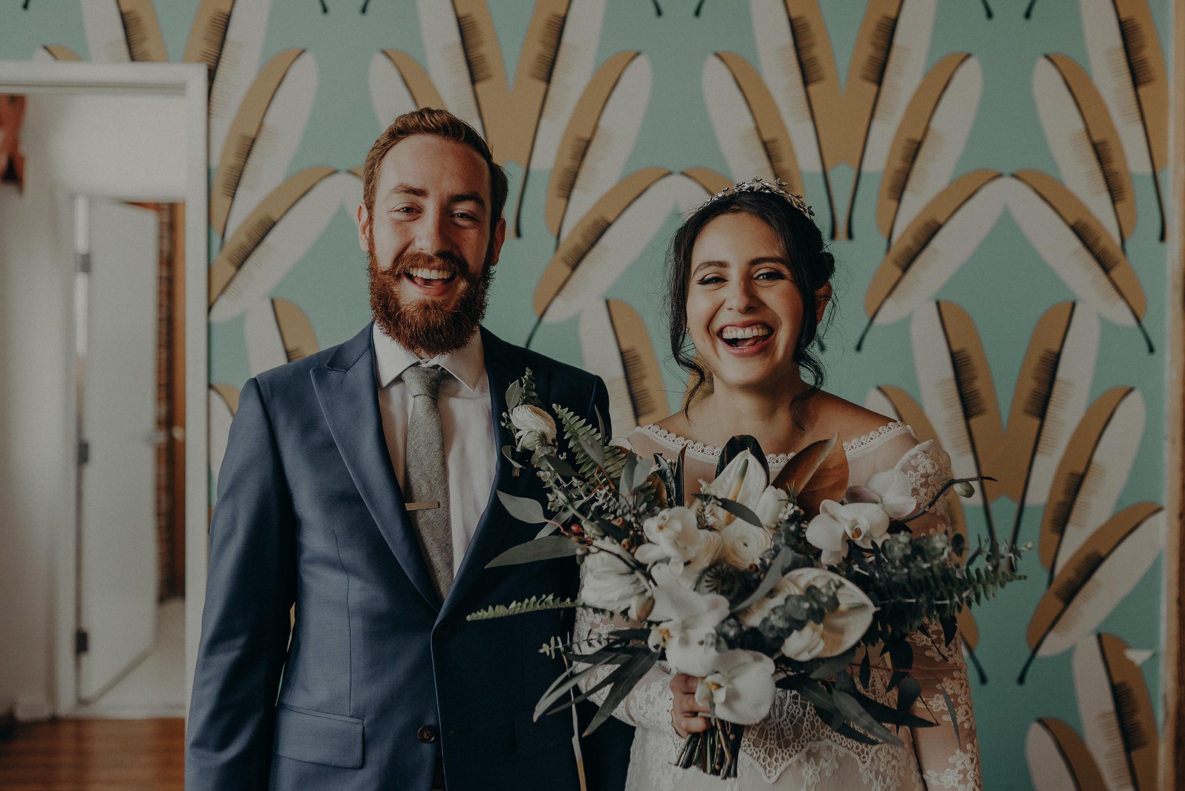 the unique space wedding