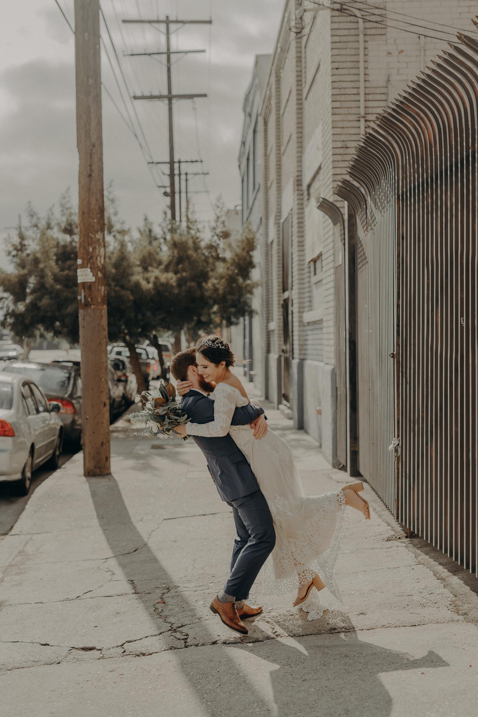 wedding photographer in Los Angeles, unique space wedding