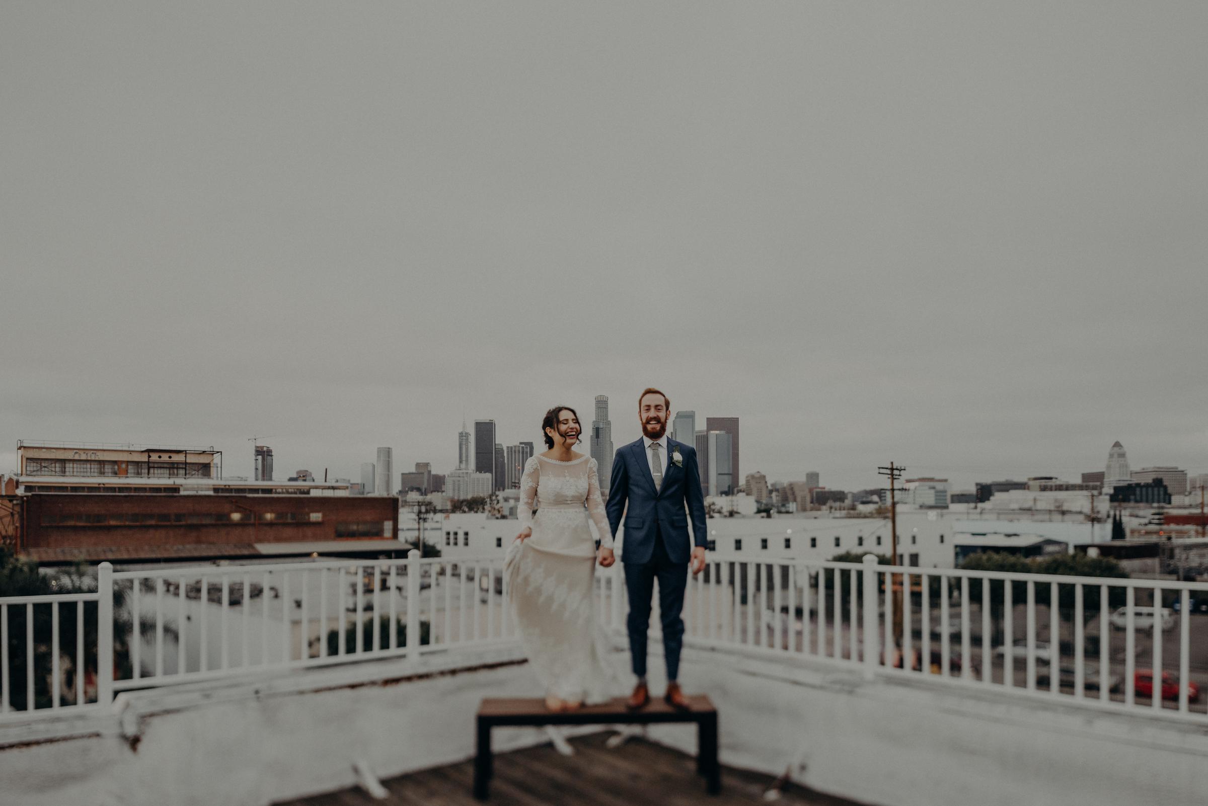 L.A. wedding photographer - Los Angeles Elopement Photography - The Unique Space Venue - IsaiahAndTaylor.com